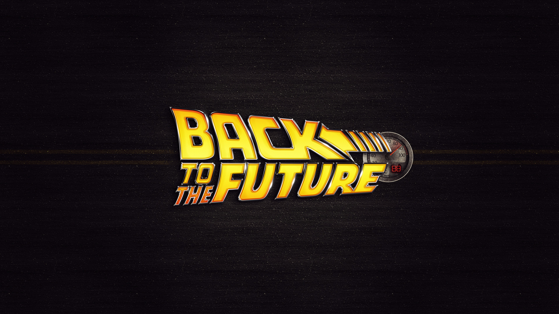 Back To The Future Movie Logo Desktop Wallpaper Uploaded by DesktopWalls