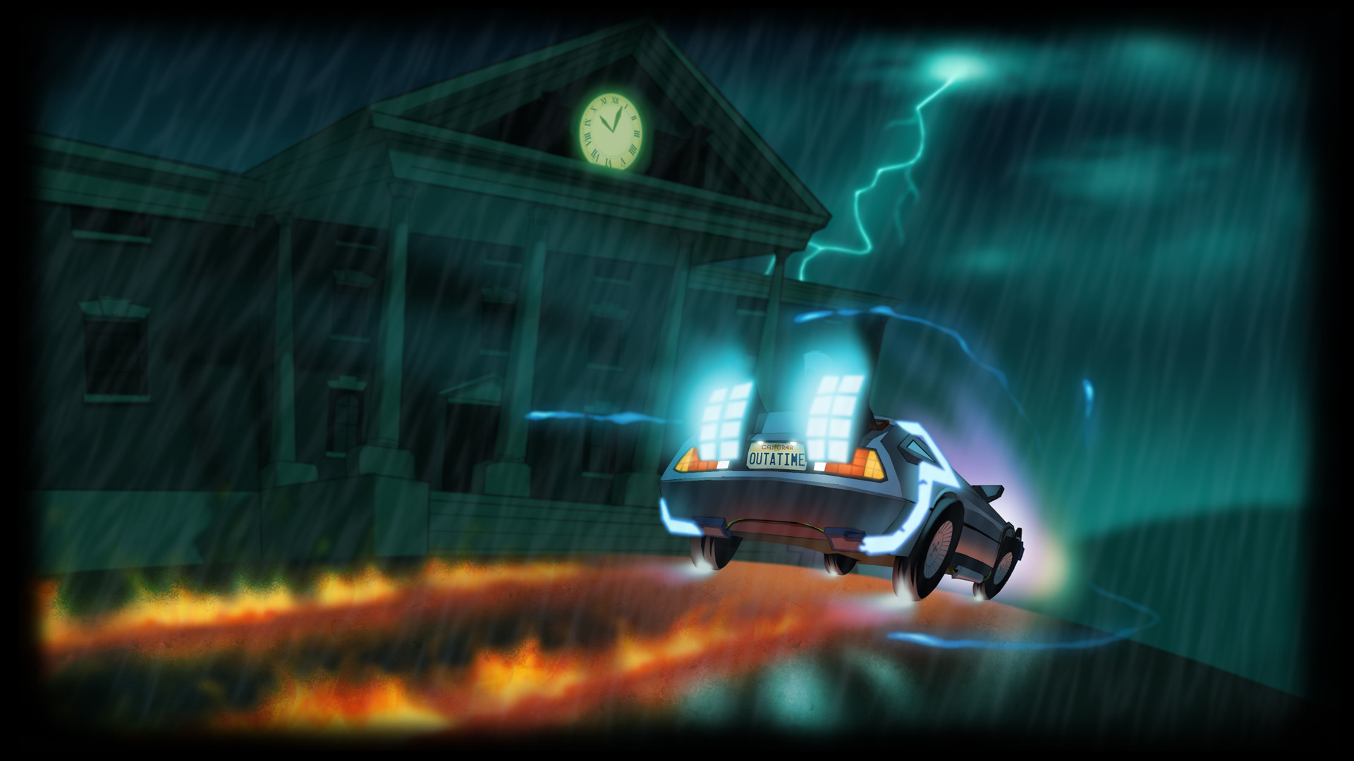 2 Back to the Future II & III HD Wallpapers | Backgrounds – Wallpaper Abyss