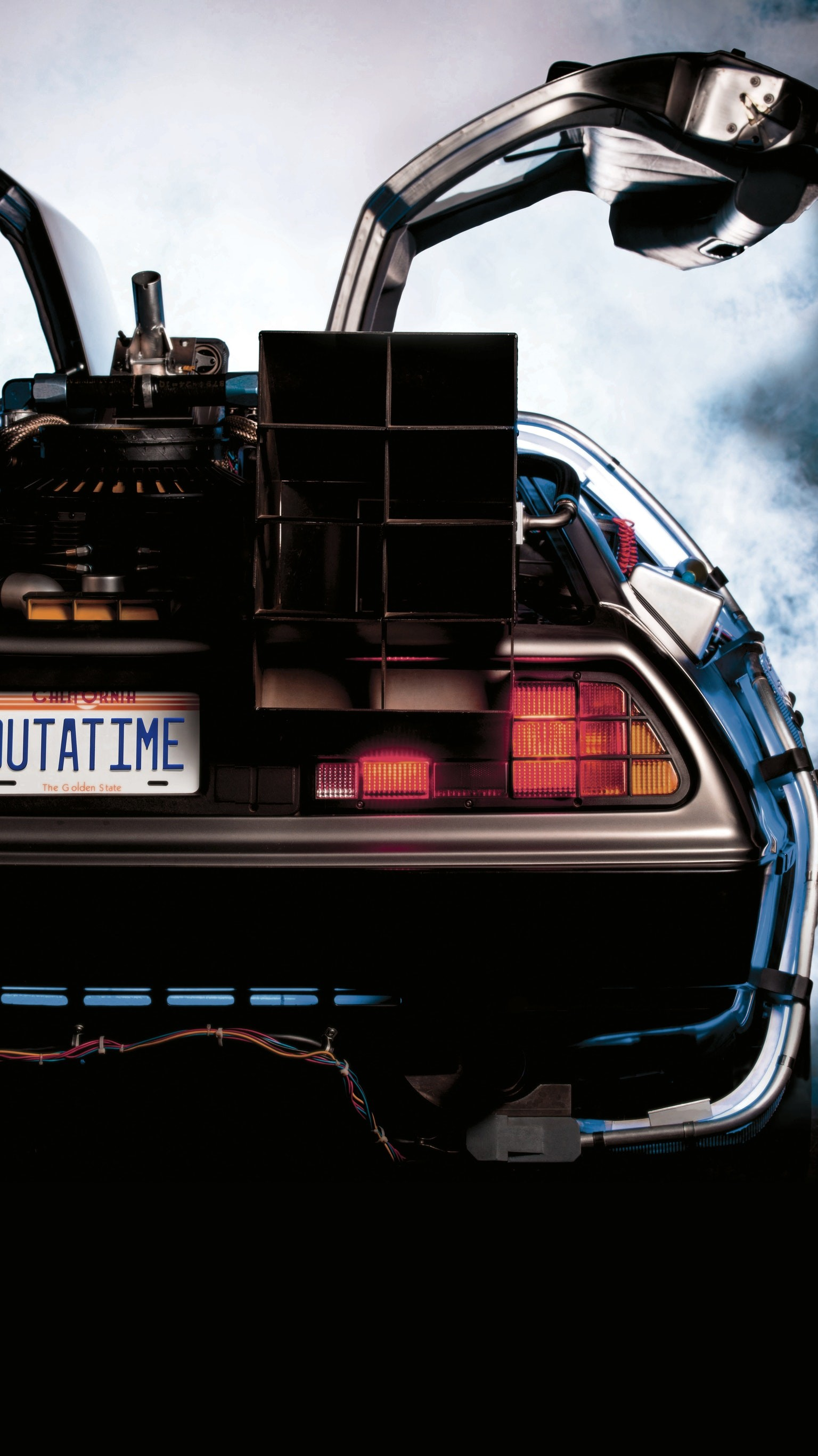 """Wallpaper for """"Back to the Future"""" …"""