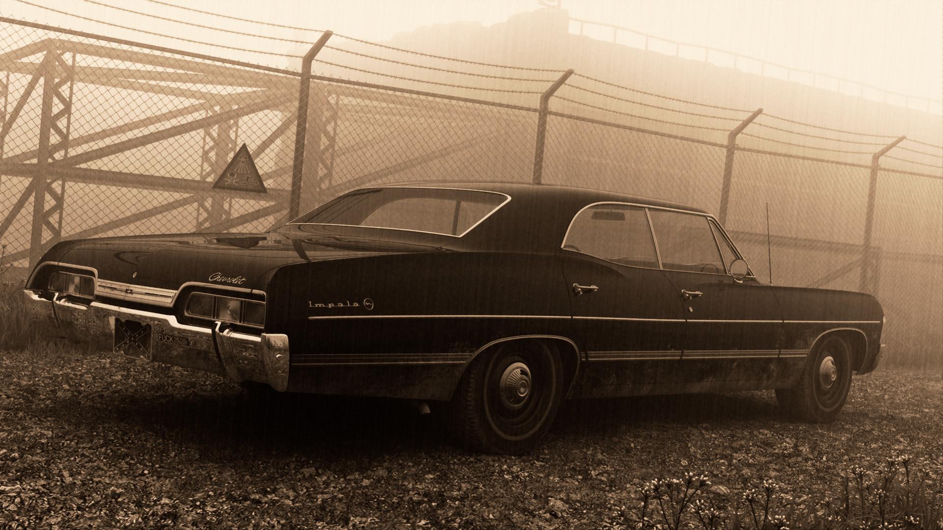 Black 1967 Chevy Impalas Supernatural, chevrolet impala 1967 .