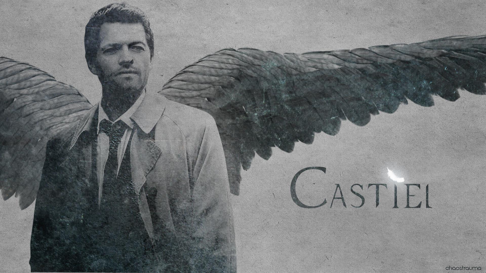 supernatural castiel wallpaper by chaostrauma fan art wallpaper movies .
