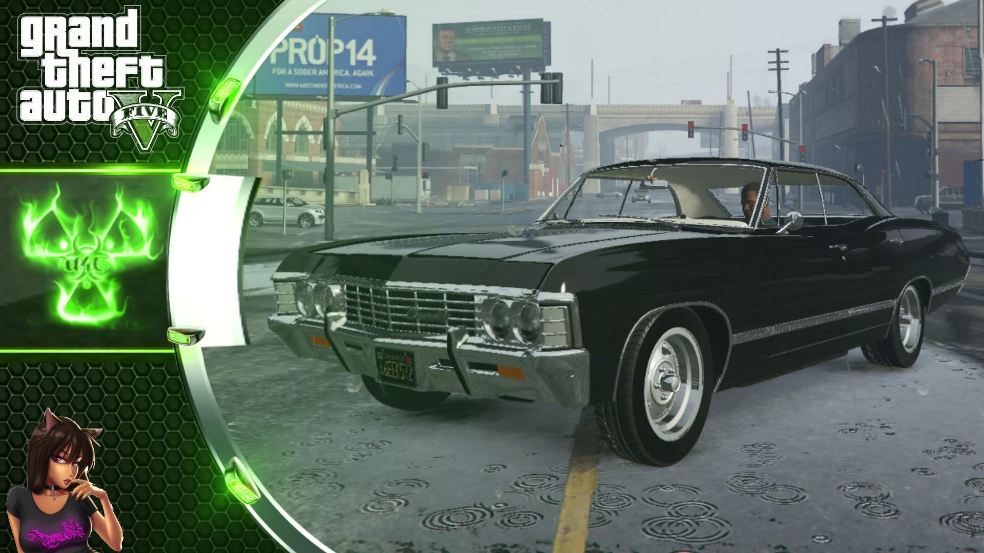 Chevrolet Impala 1967. (Supernatural) GTA 5 Car Mod