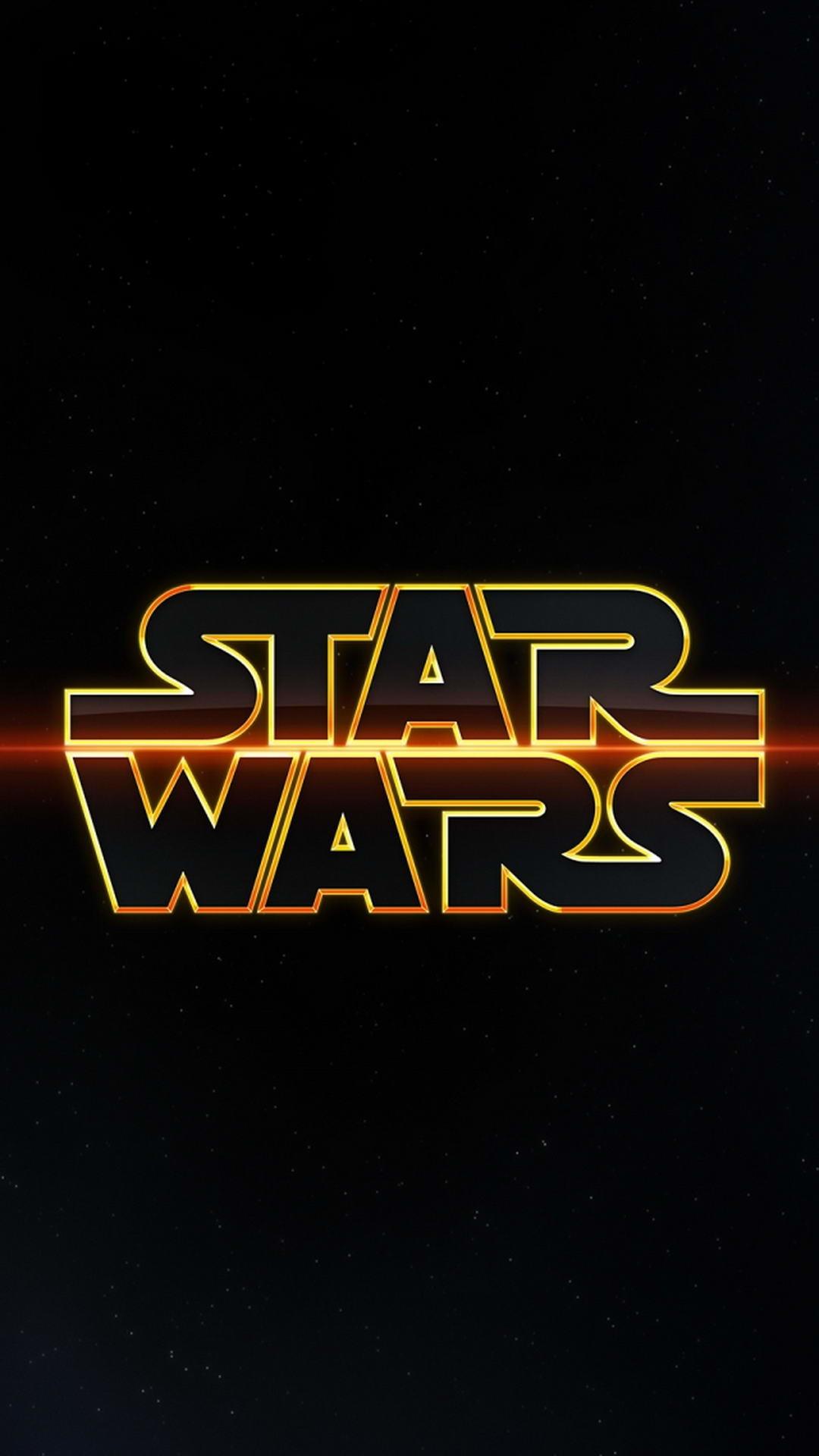 Star Wars Logo ☆ Download more Star Wars iPhone Wallpapers at  @prettywallpaper Luke Skywalker!