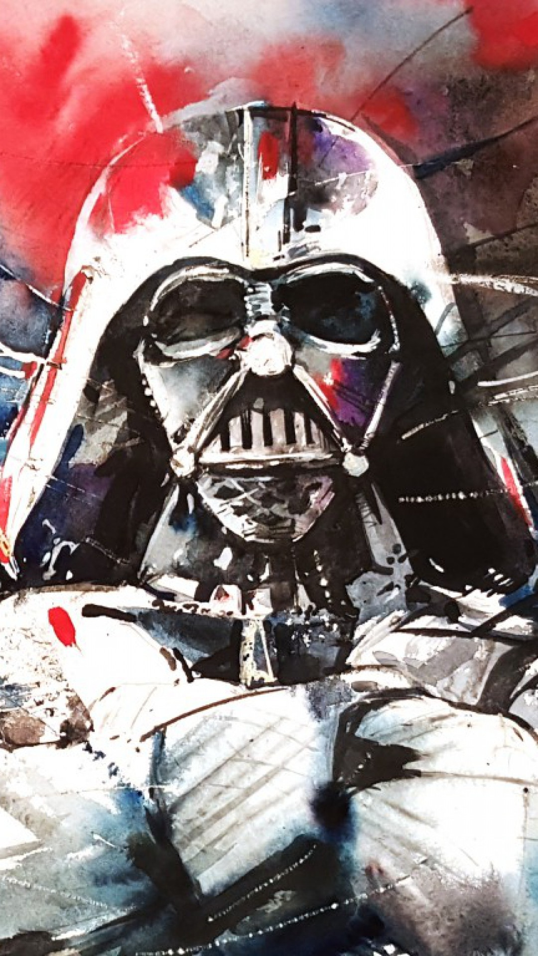Darth Vader Star Wars Abstraction – Tap to see more exciting Star Wars  wallpaper! @