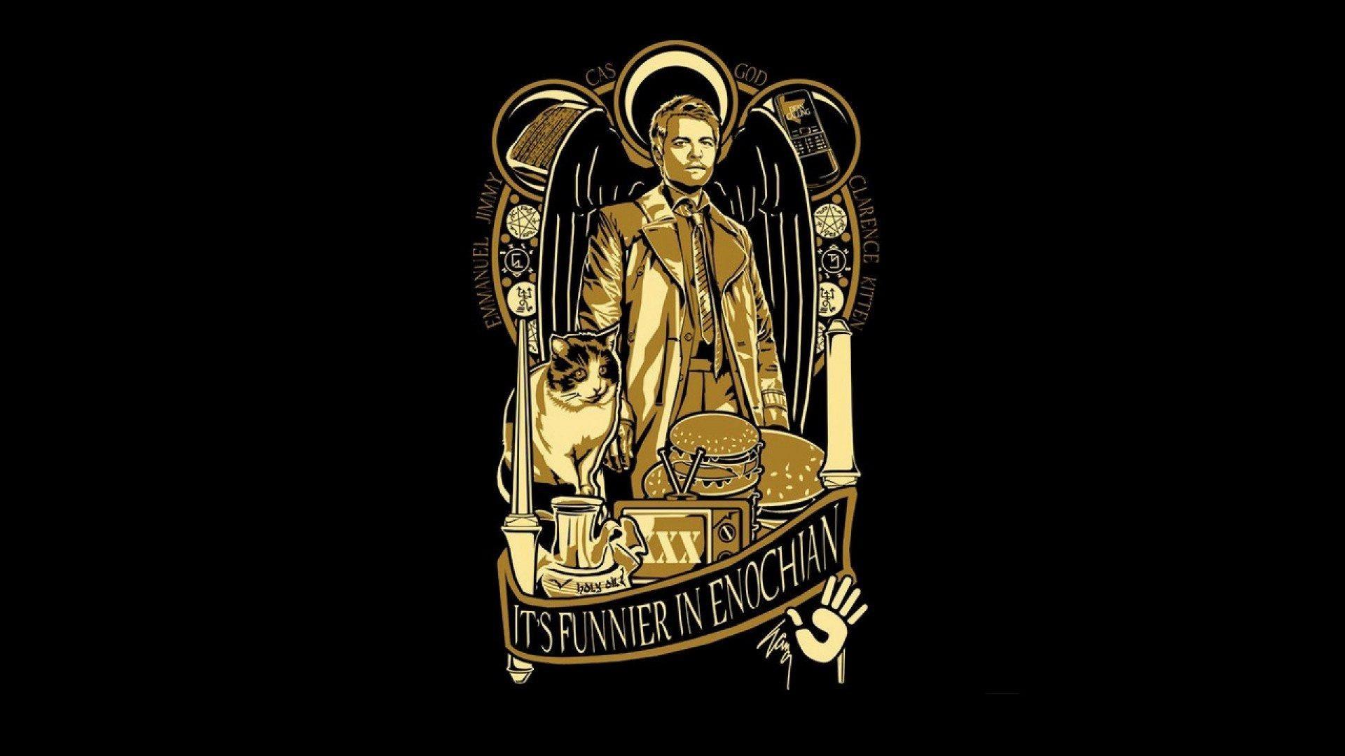 Castiel-Supernatural-Iphone-Wallpaper-Free-Download