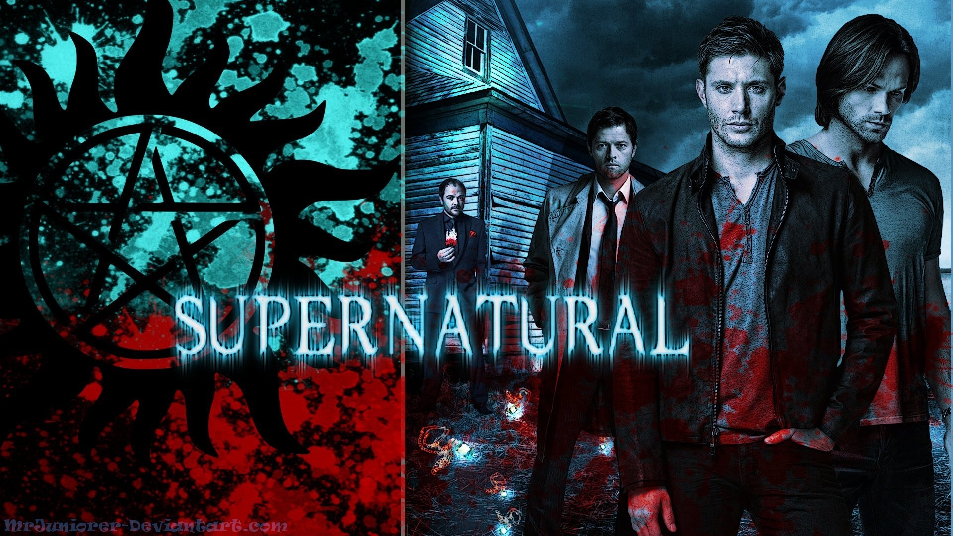 Supernatural Wallpaper by MrJuniorer Supernatural Wallpaper by MrJuniorer