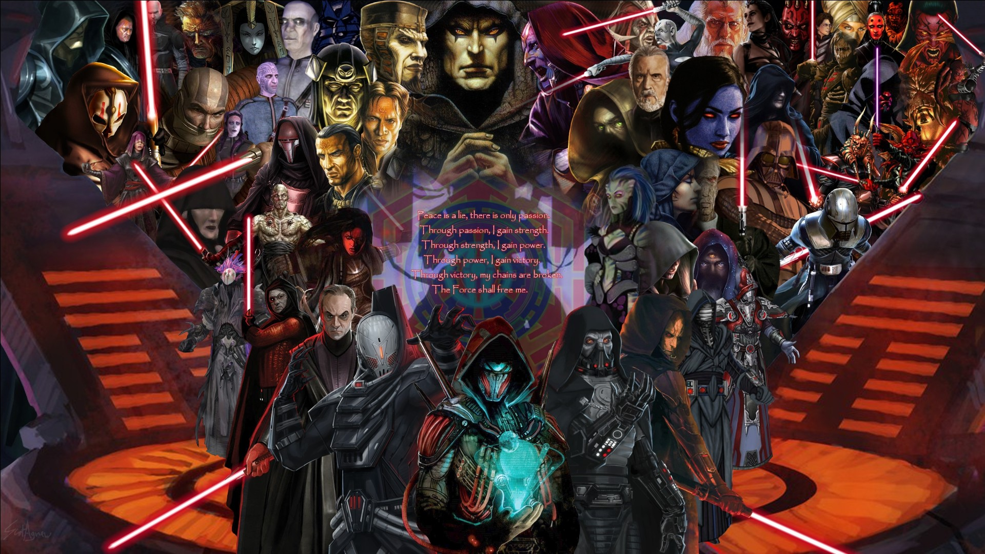 … Disciples of the Sith by ScotUK101