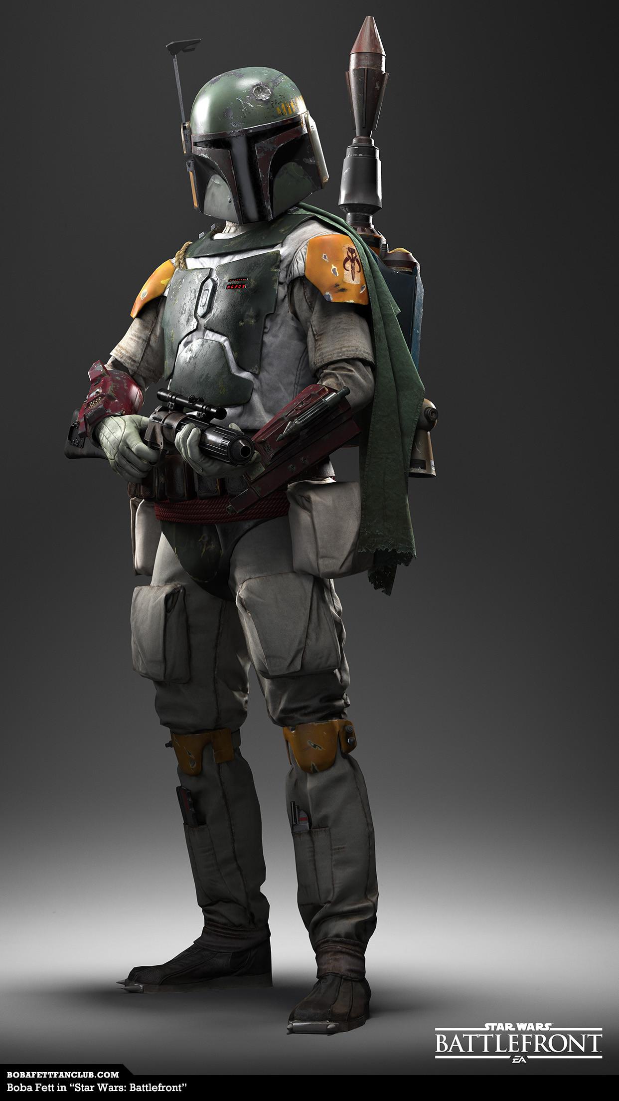 "Boba Fett in ""Star Wars: Battlefront"" iPhone 6 Plus"