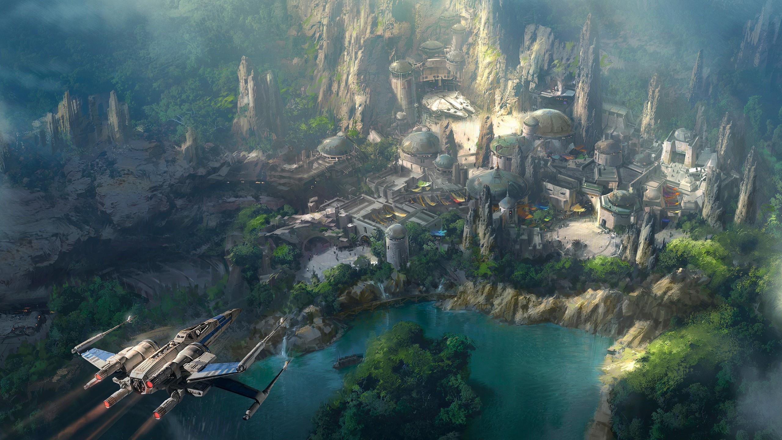 1024×768 1280×720 1280×800 1366×768 1440×900 1600×900 1680×1050 1920×1080  1920×1200 2880×1800. Tags: Disneyland, Star Wars Land, Concept, HD