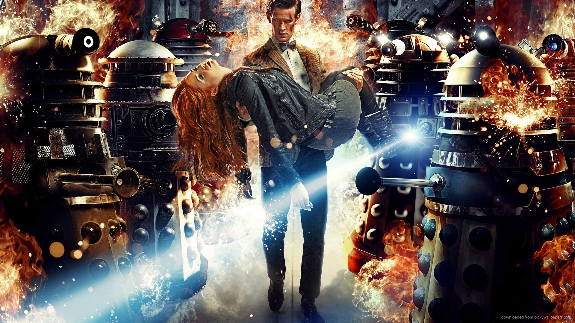 Doctor Who And Daleks for 1920×1080
