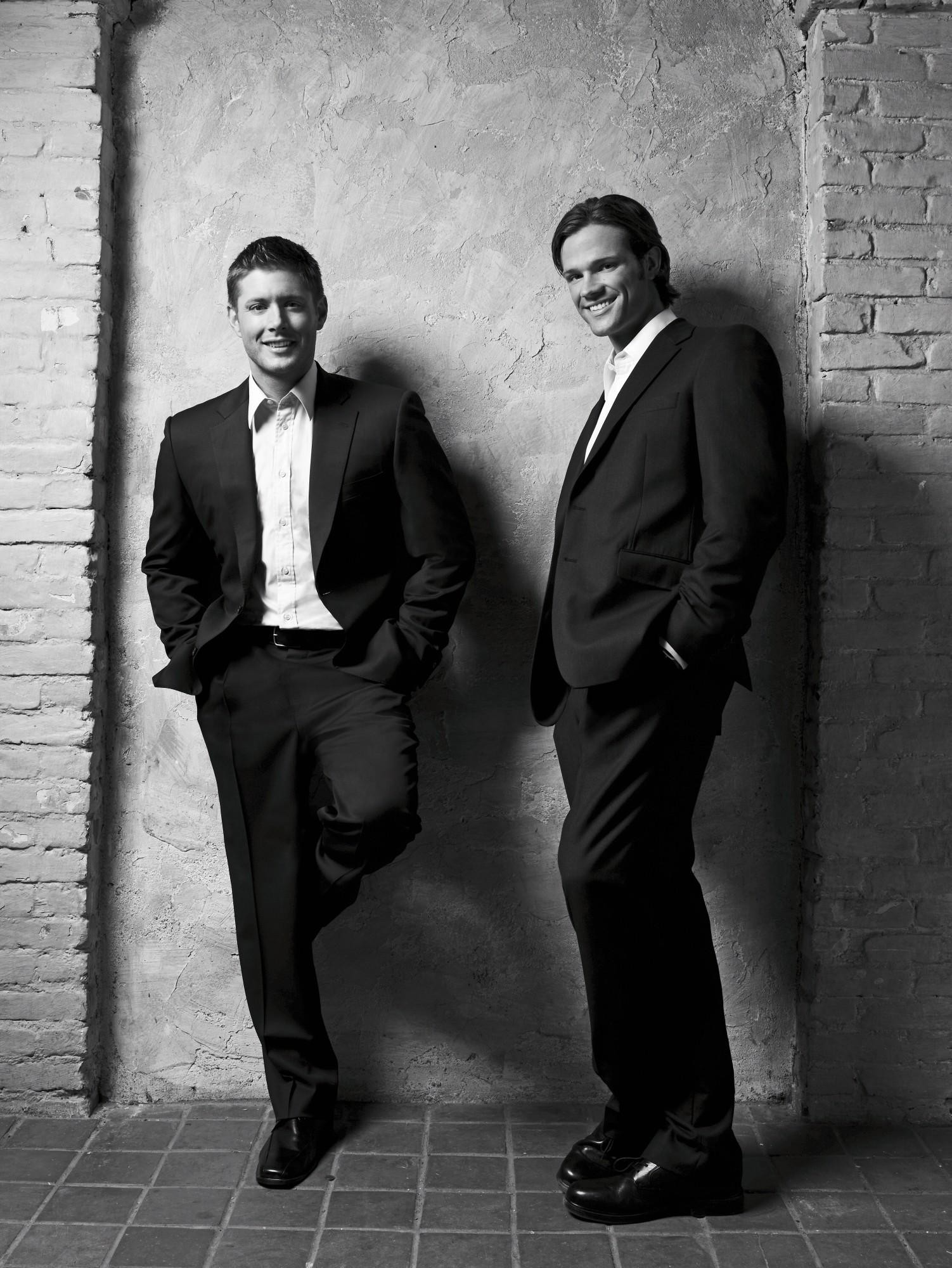 Jensen Ackles & Jared Padalecki. Best friends in real life. Also they seem  like