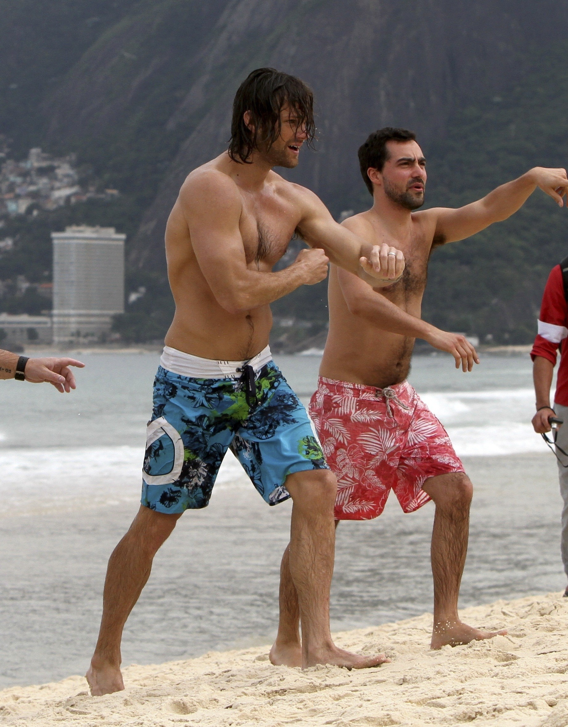 Shirtless at the beach in Rio De Janeiro. HD Wallpaper and background  photos of Jared for fans of jared padalecki and jensen ackles images.