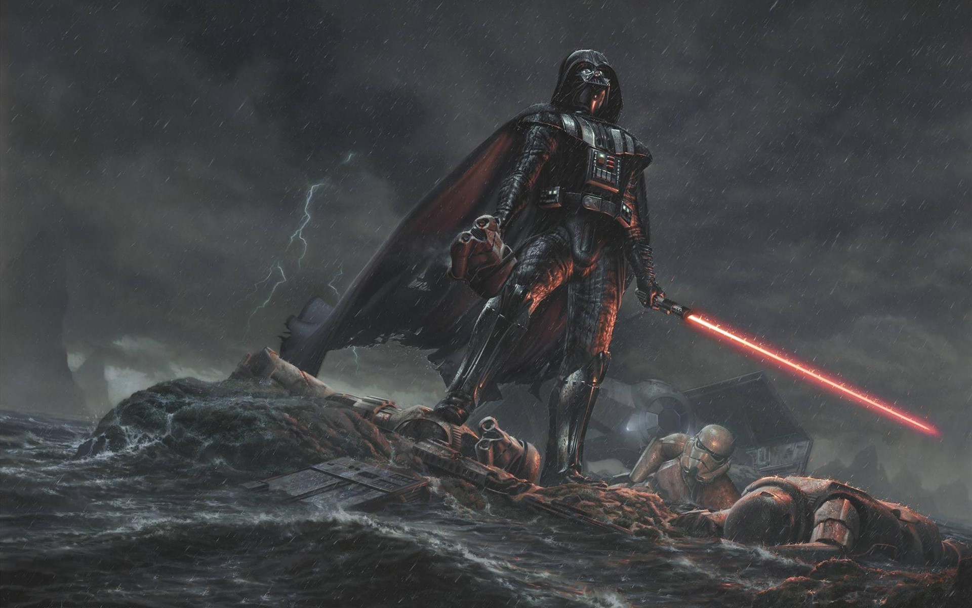 digital Art, Movies, Star Wars, Drawing, Darth Vader Wallpapers HD /  Desktop and Mobile Backgrounds
