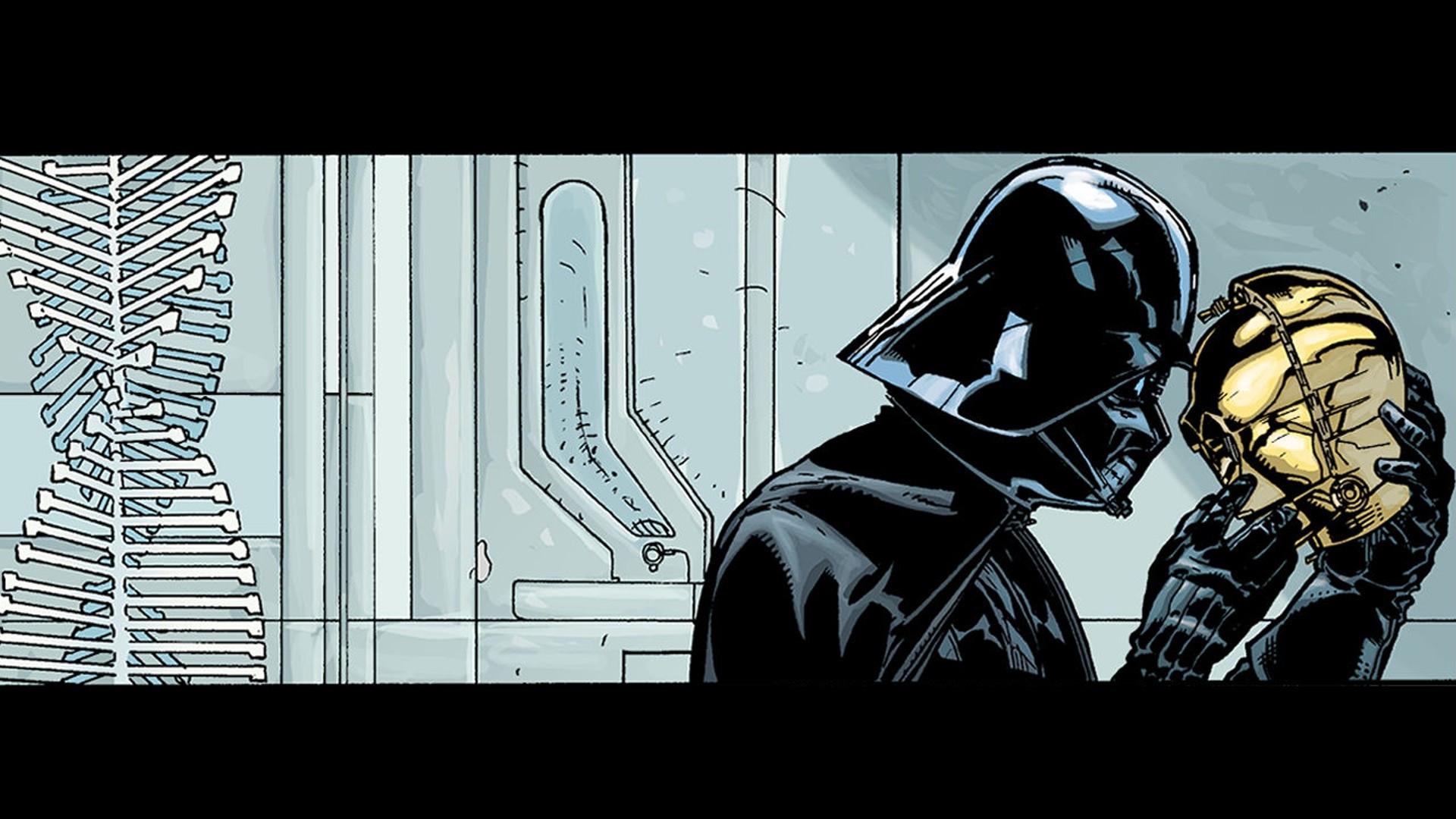 HD Wallpaper | Background ID:584819. Comics Star Wars: Darth Vader