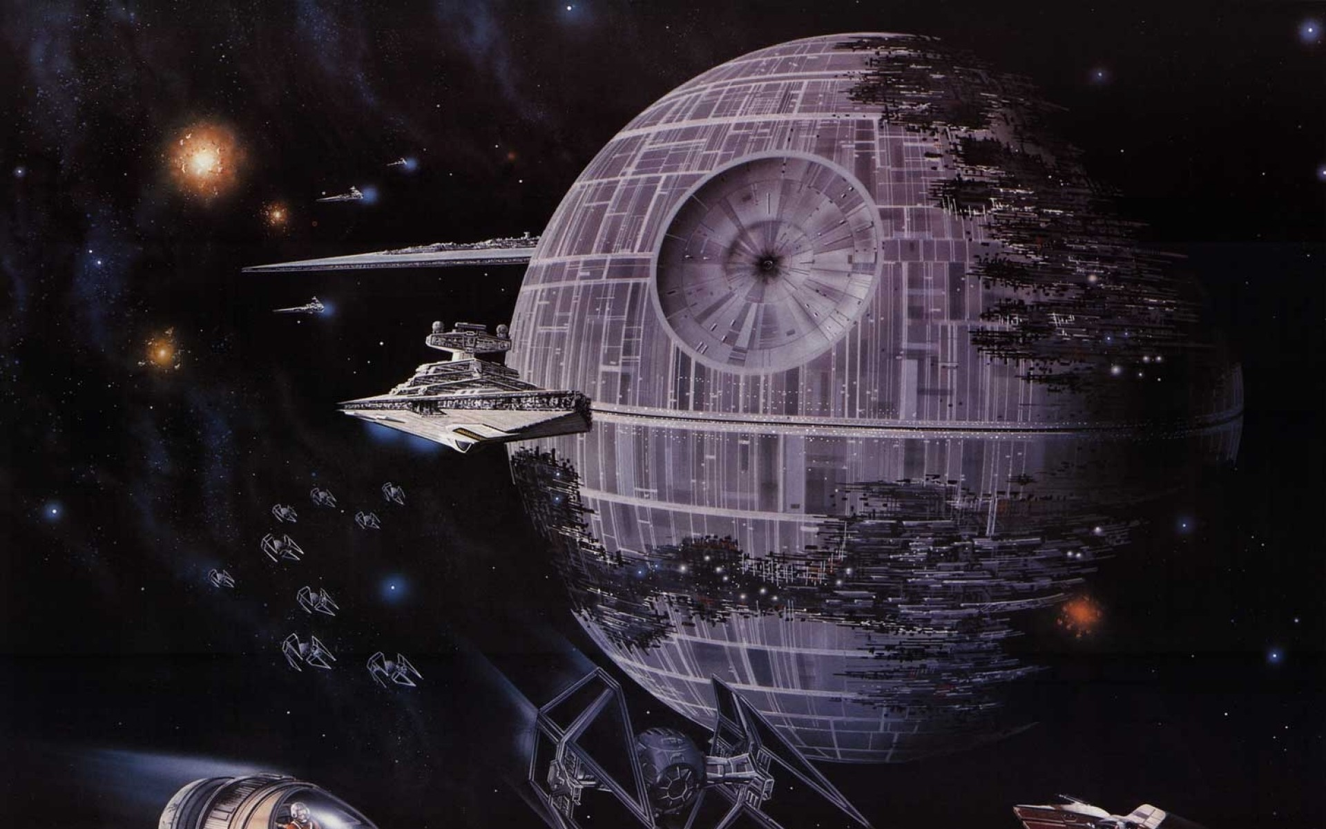 Death Star Backgrounds.
