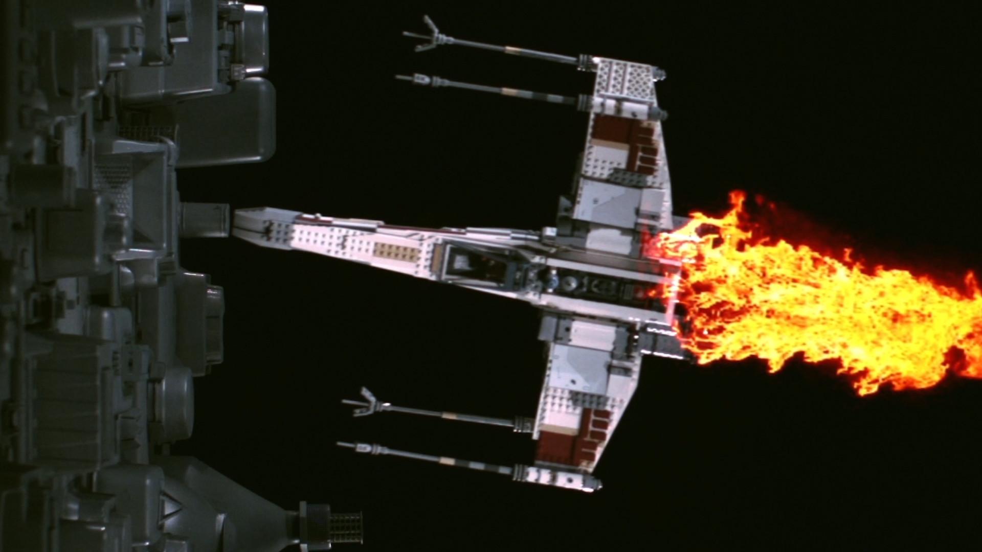 Star Wars Lego X-Wing Fighter vs. Death Star