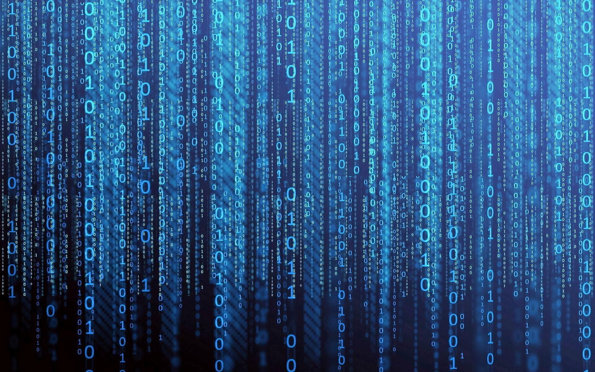 Matrix binary code wallpaper