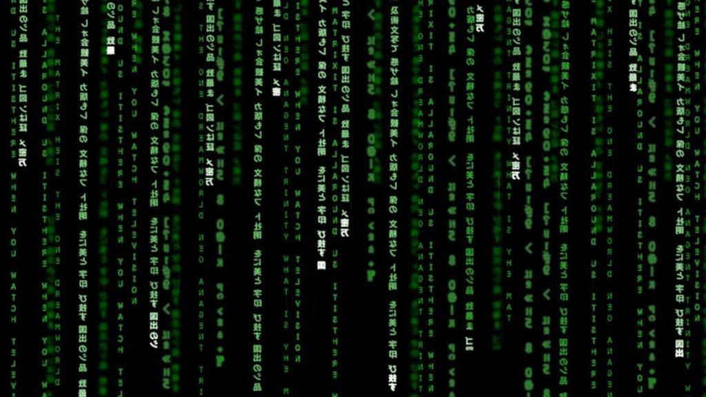 The Matrix Binary Poster Wallpapers HD