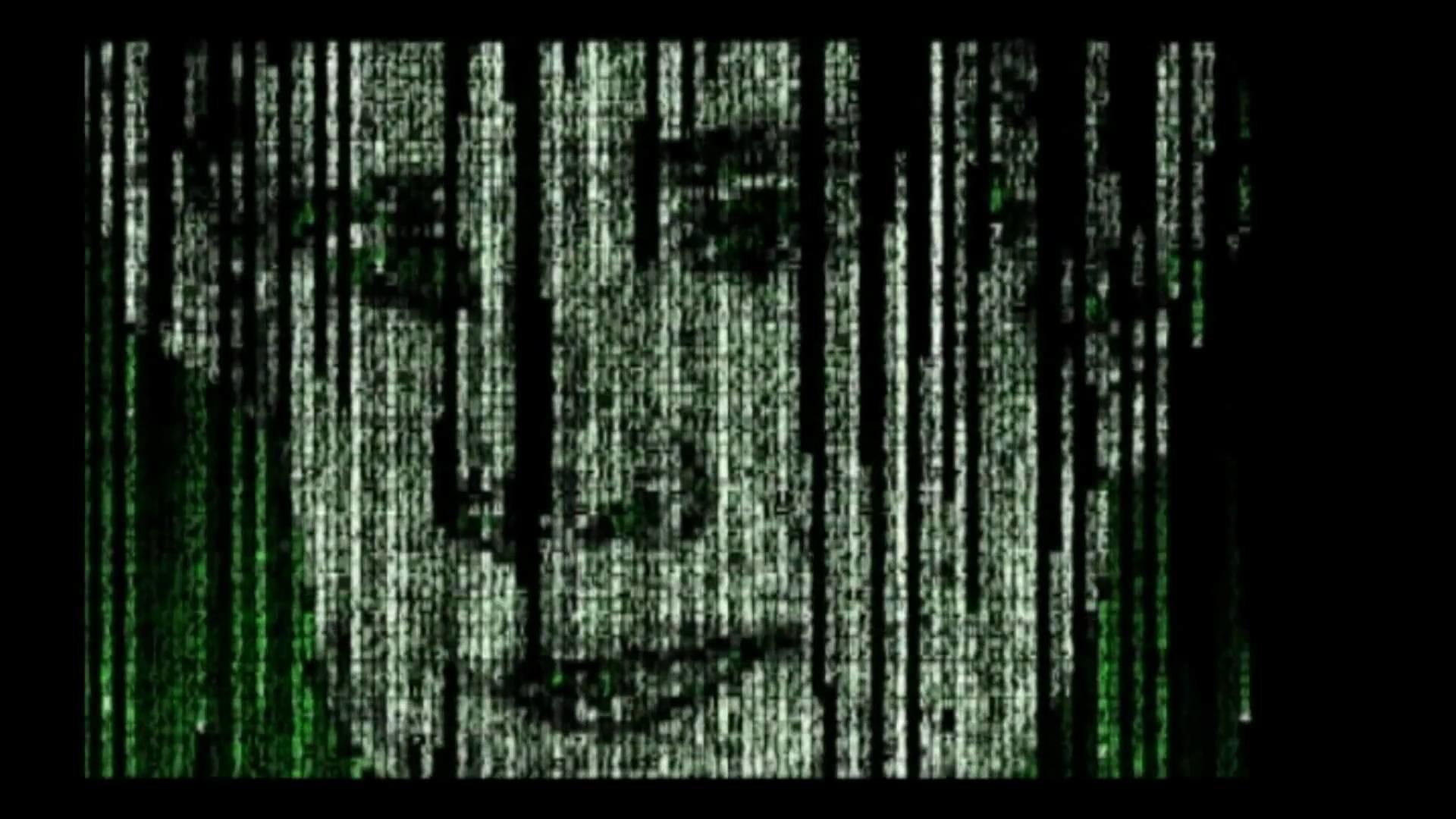 Matrix Rain Intro Effect Animation Code Digital C++ Part 1 of 2