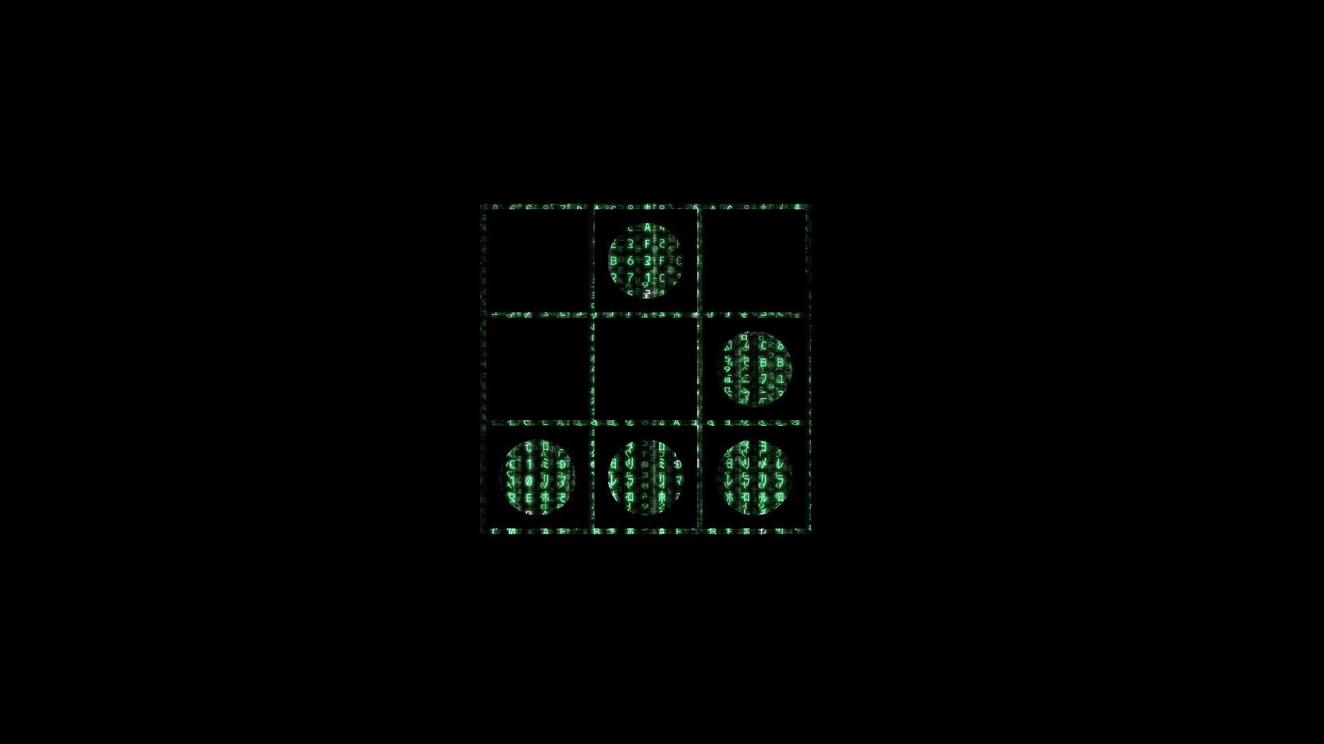 wallpaper hacking · Matrix · code