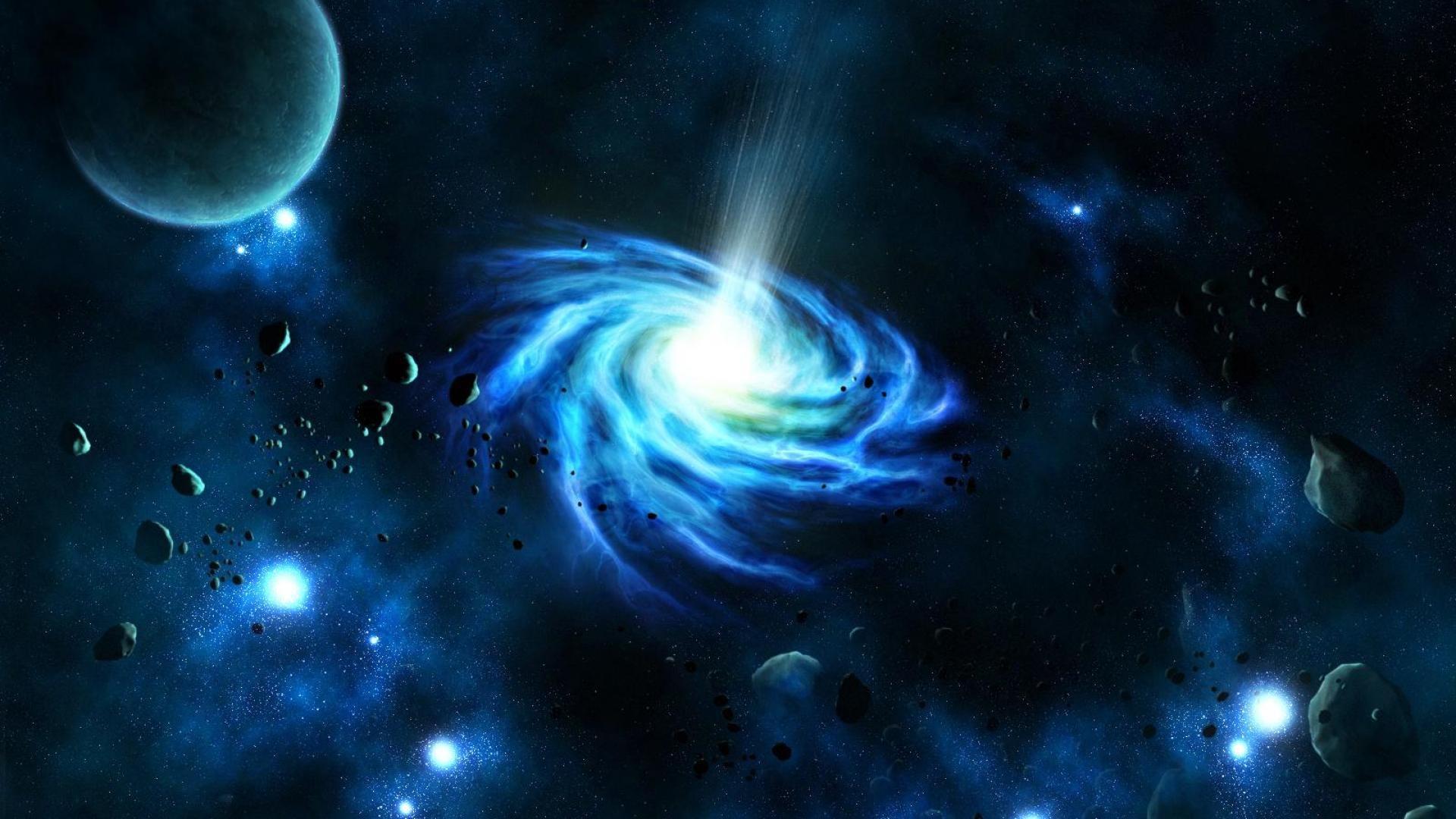Interstellar Black Hole Wallpaper High Resolution