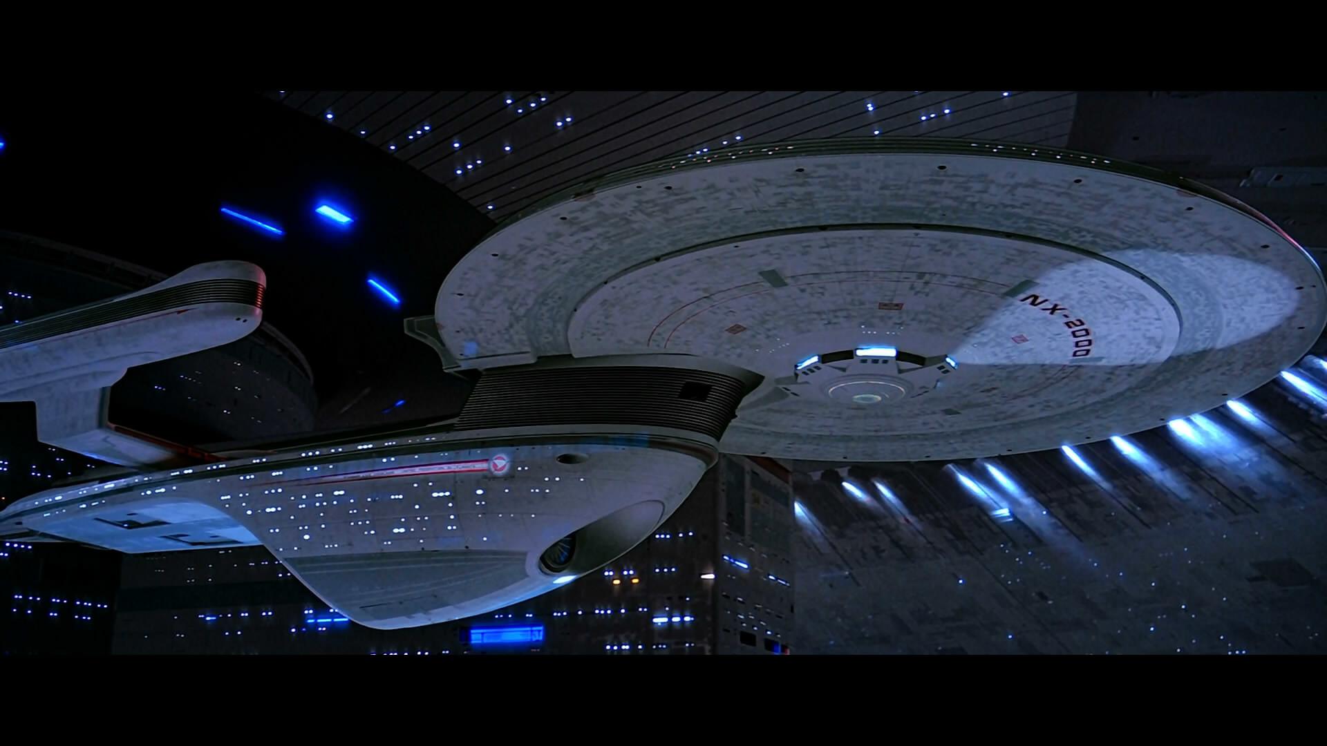 Excelsior-class starship engaged in battle.   Star Trek – Excelsior-Class  United Federation of Planets Starships   Pinterest   Trek and Star trek