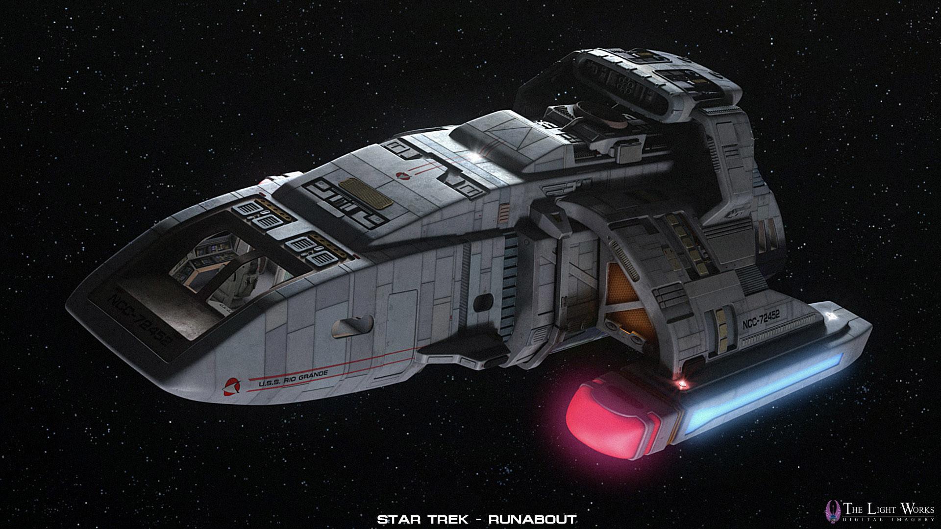 https://www.thelightworks.com/wip/runabout/runabout_00. Star Trek StarshipsStarfleet  …