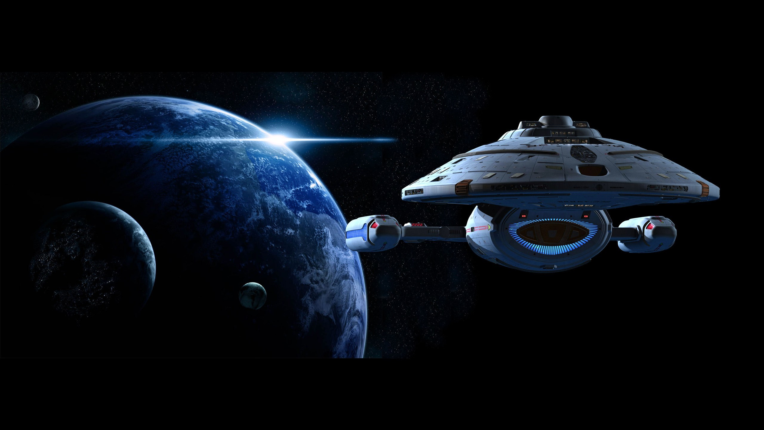 Home decoration planets Star Trek Voyager Silk Fabric Poster Print  XD035(China)