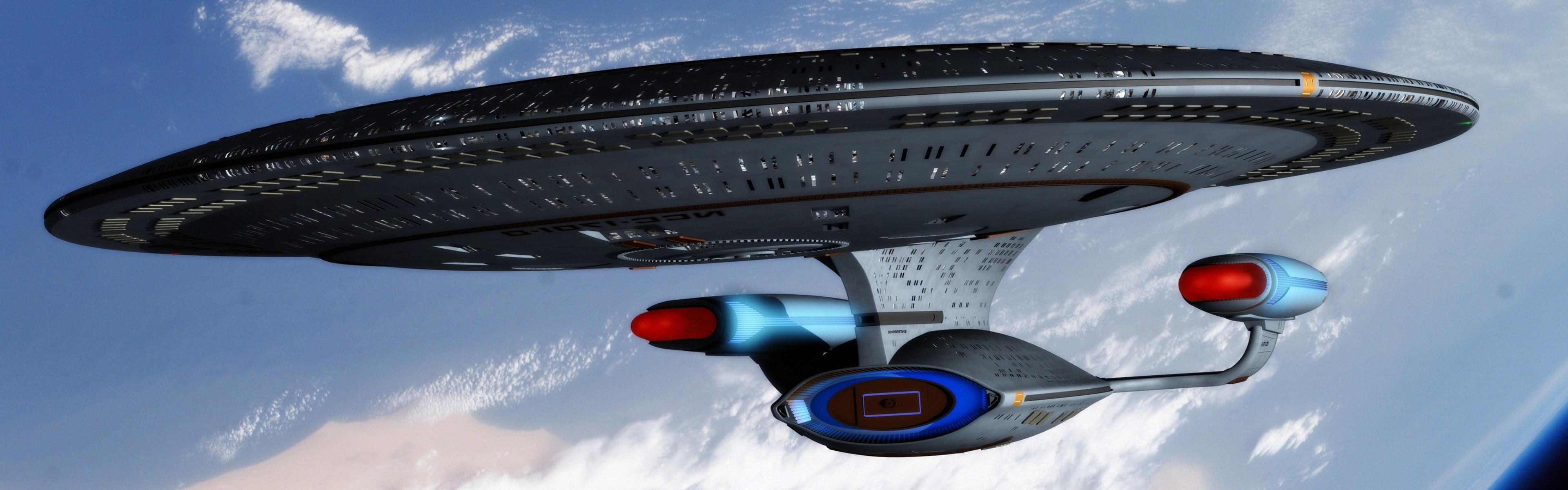 Star Trek, USS Enterprise (spaceship), Space, Multiple Display Wallpapers  HD / Desktop and Mobile Backgrounds