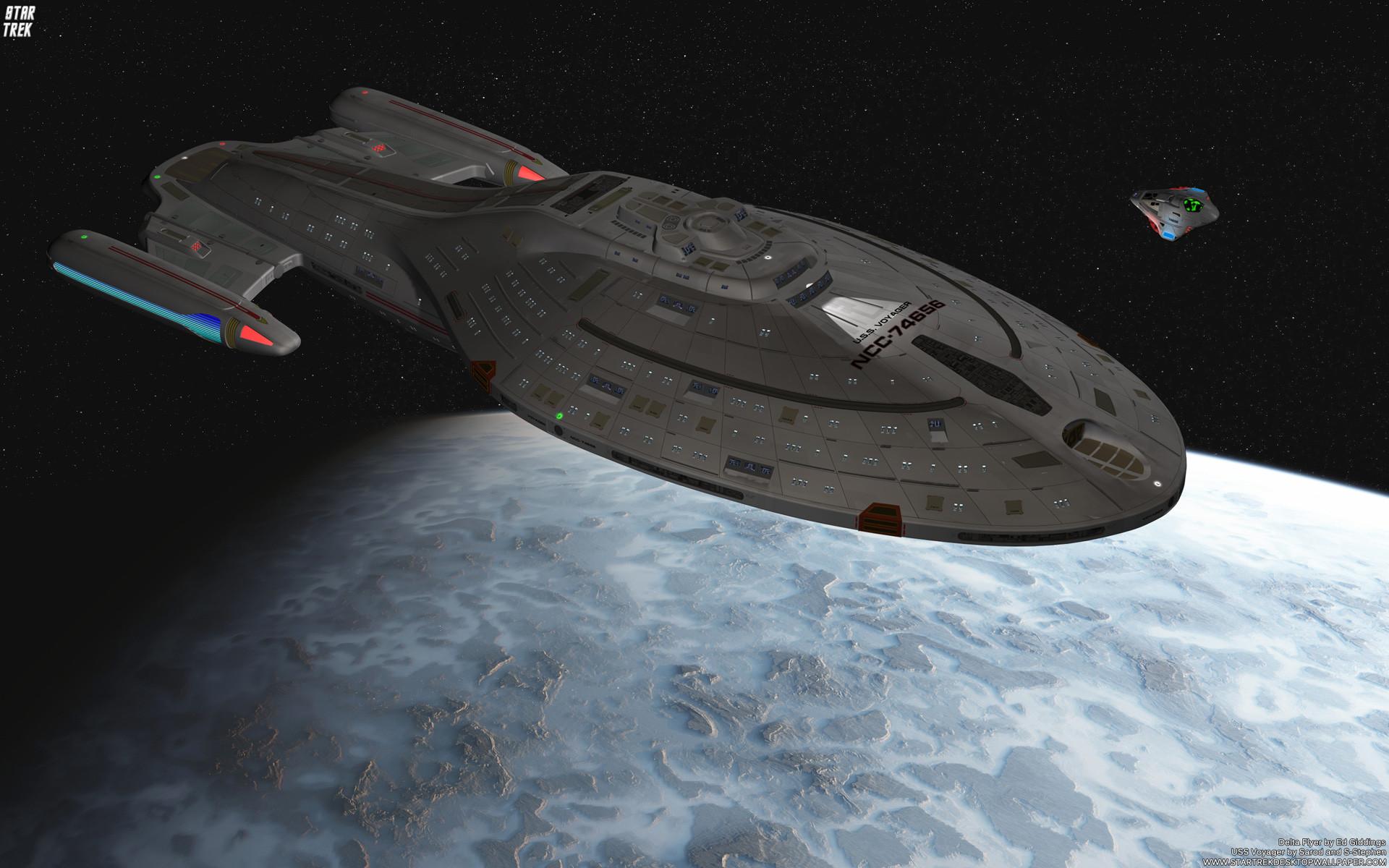 HD Quality – Star Trek Voyager – Nice Star Trek Voyager Wallpapers