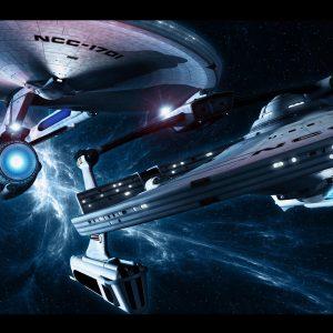 Star Trek Dual Screen