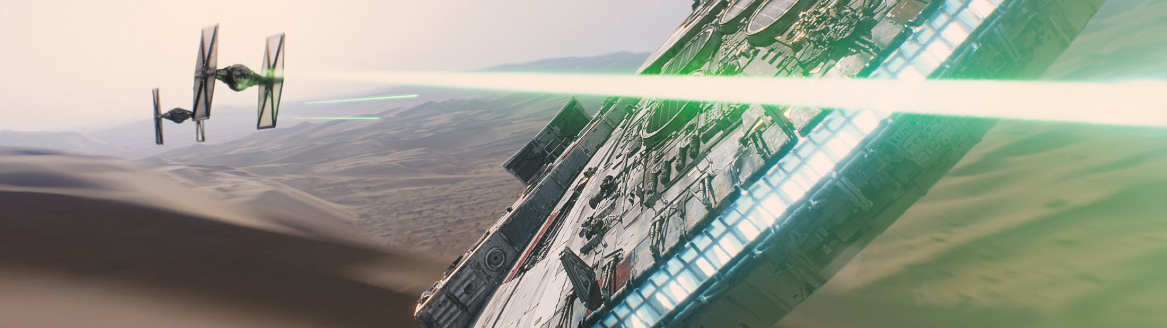 Star Wars Dual Screen Wallpaper 3840×1080