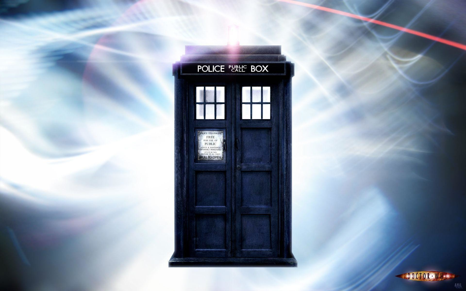 Doctor Who Tardis Front Wallpaper – Viewing Gallery