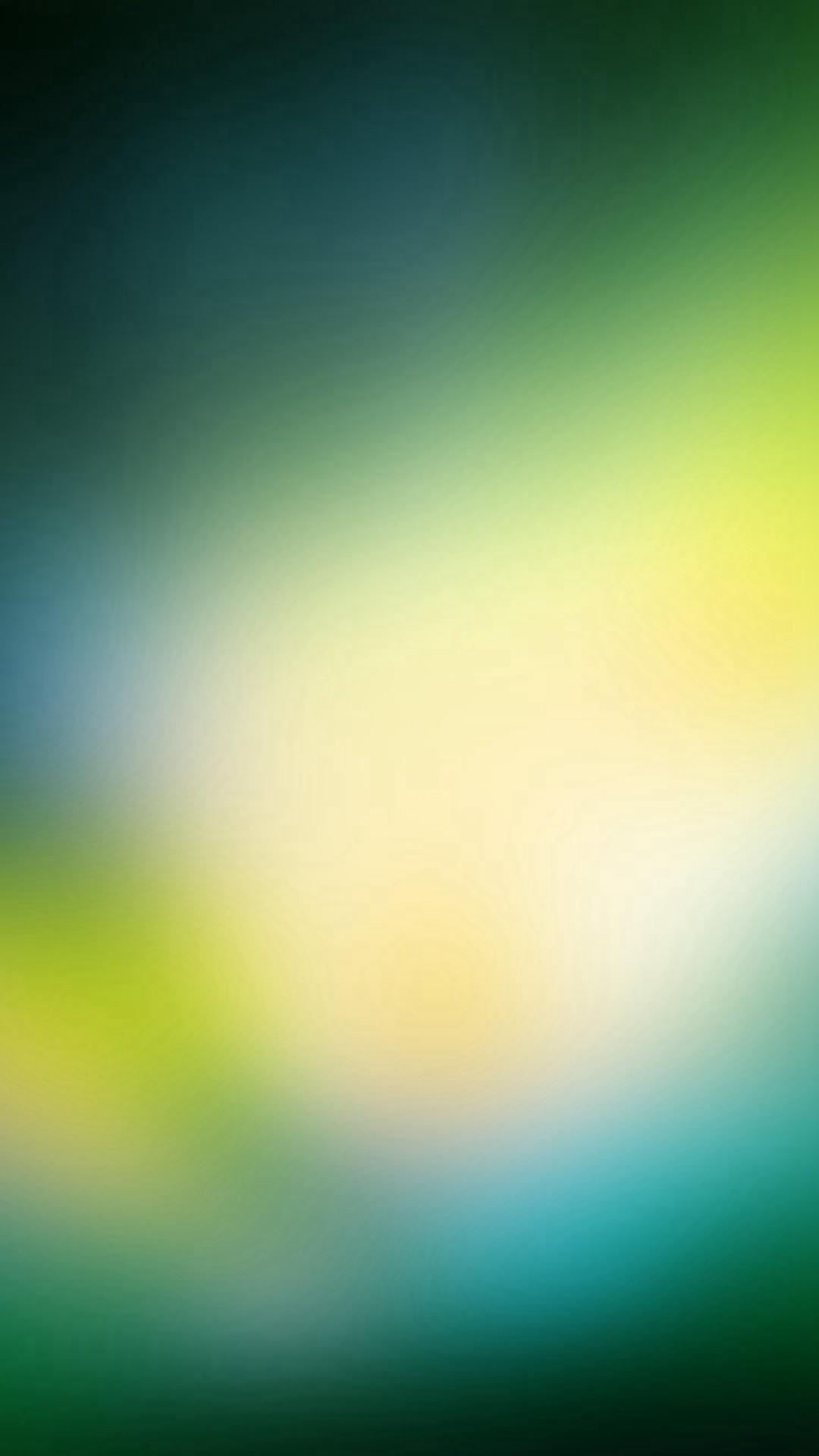 Green OS Background Gradation Blur #iPhone #6 #plus #wallpaper