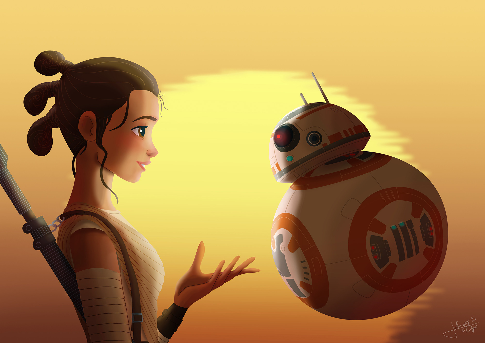 Star Wars Episode VII: The Force Awakens Background