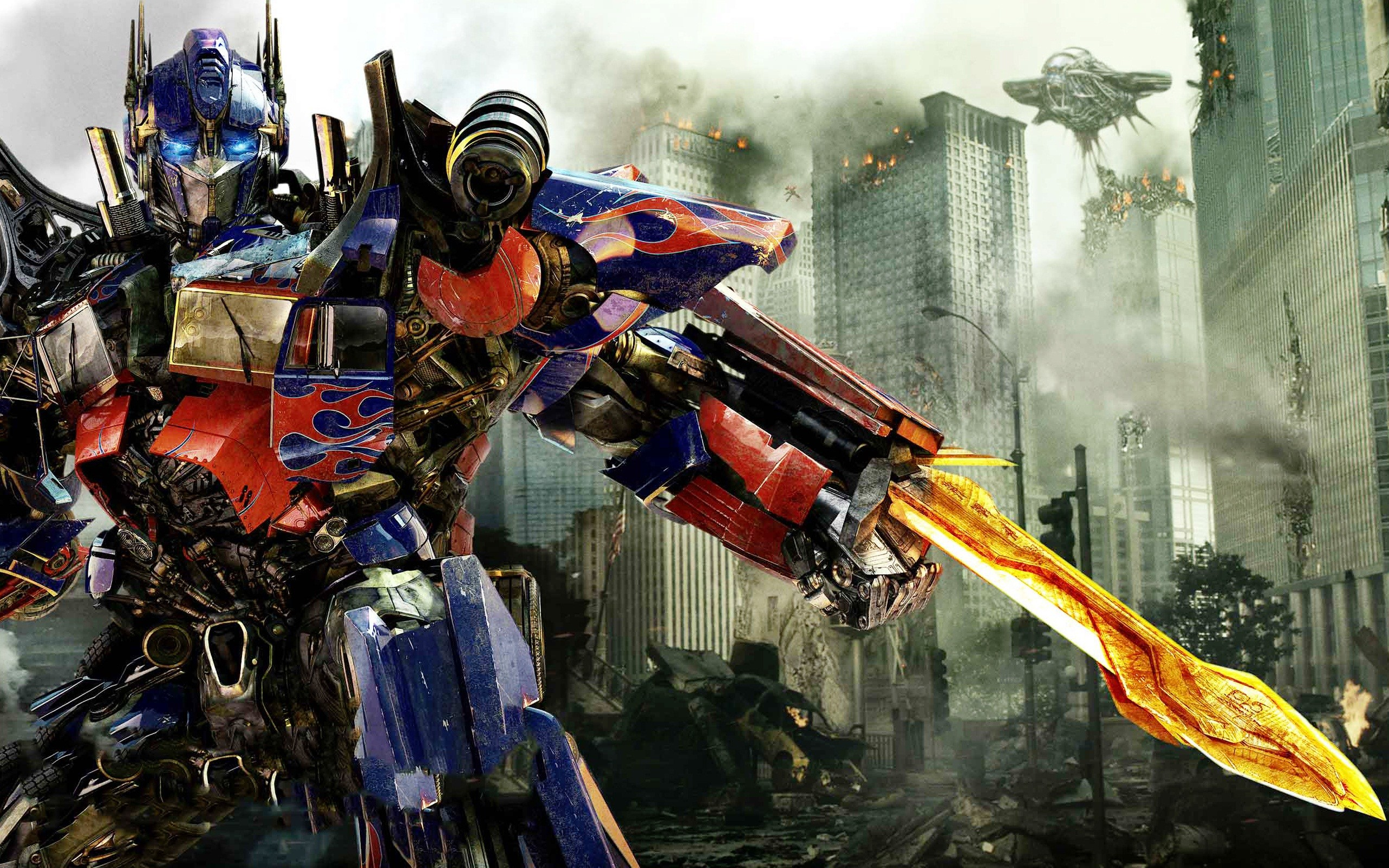 Optimus Prime in Transformers 3