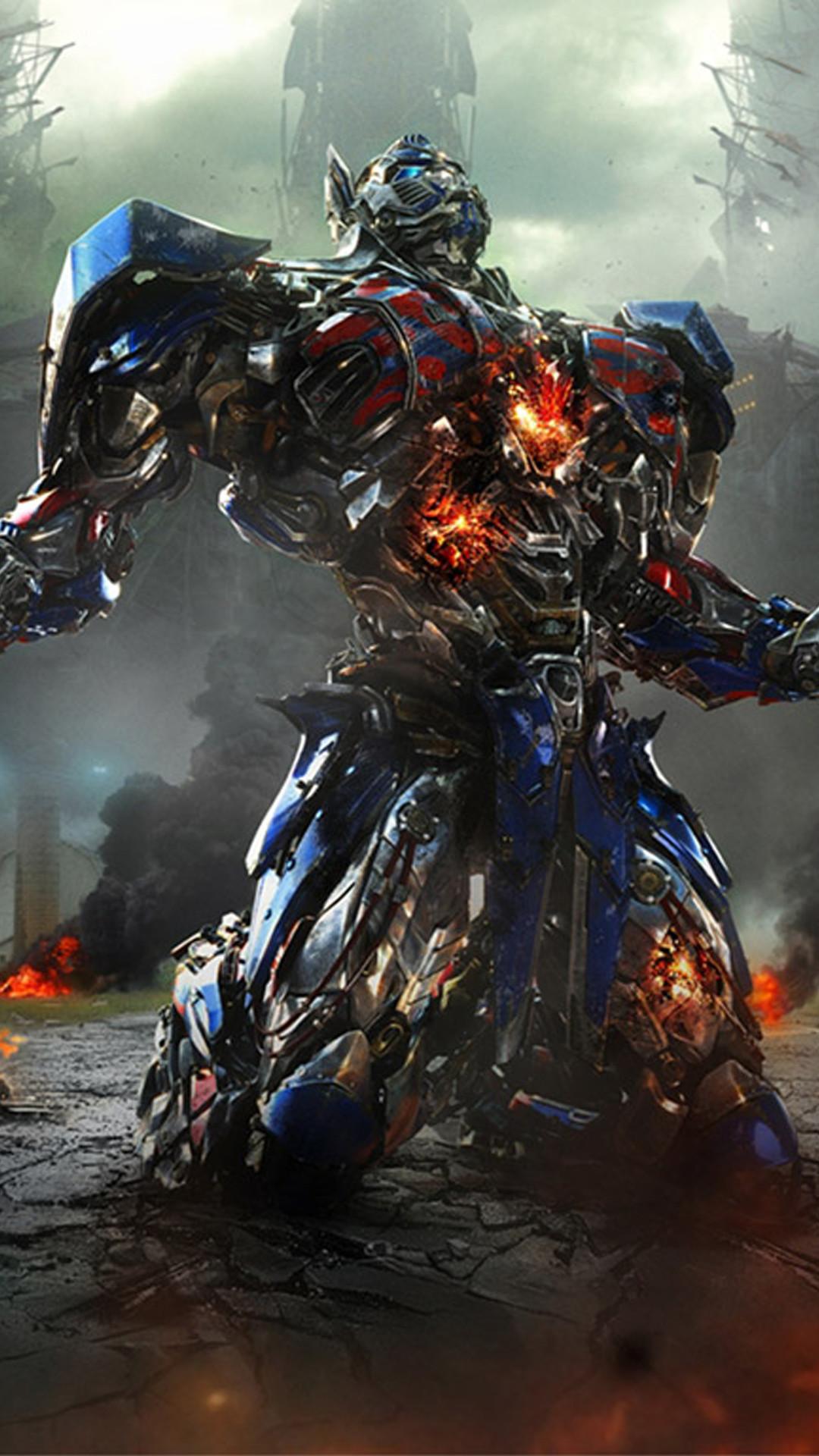 Transformers Optimus Prime Movie iPhone 6 Plus HD Wallpaper …
