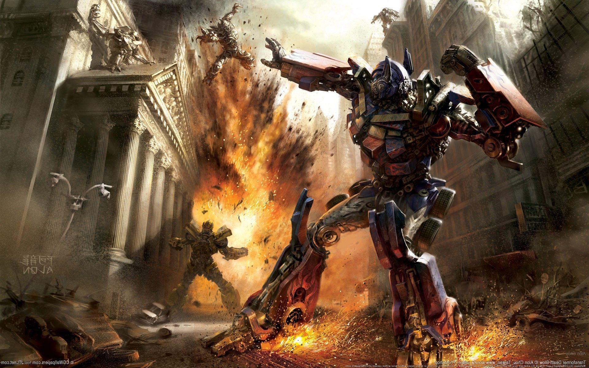 Optimus Prime, Megatron, Transformers Wallpapers HD