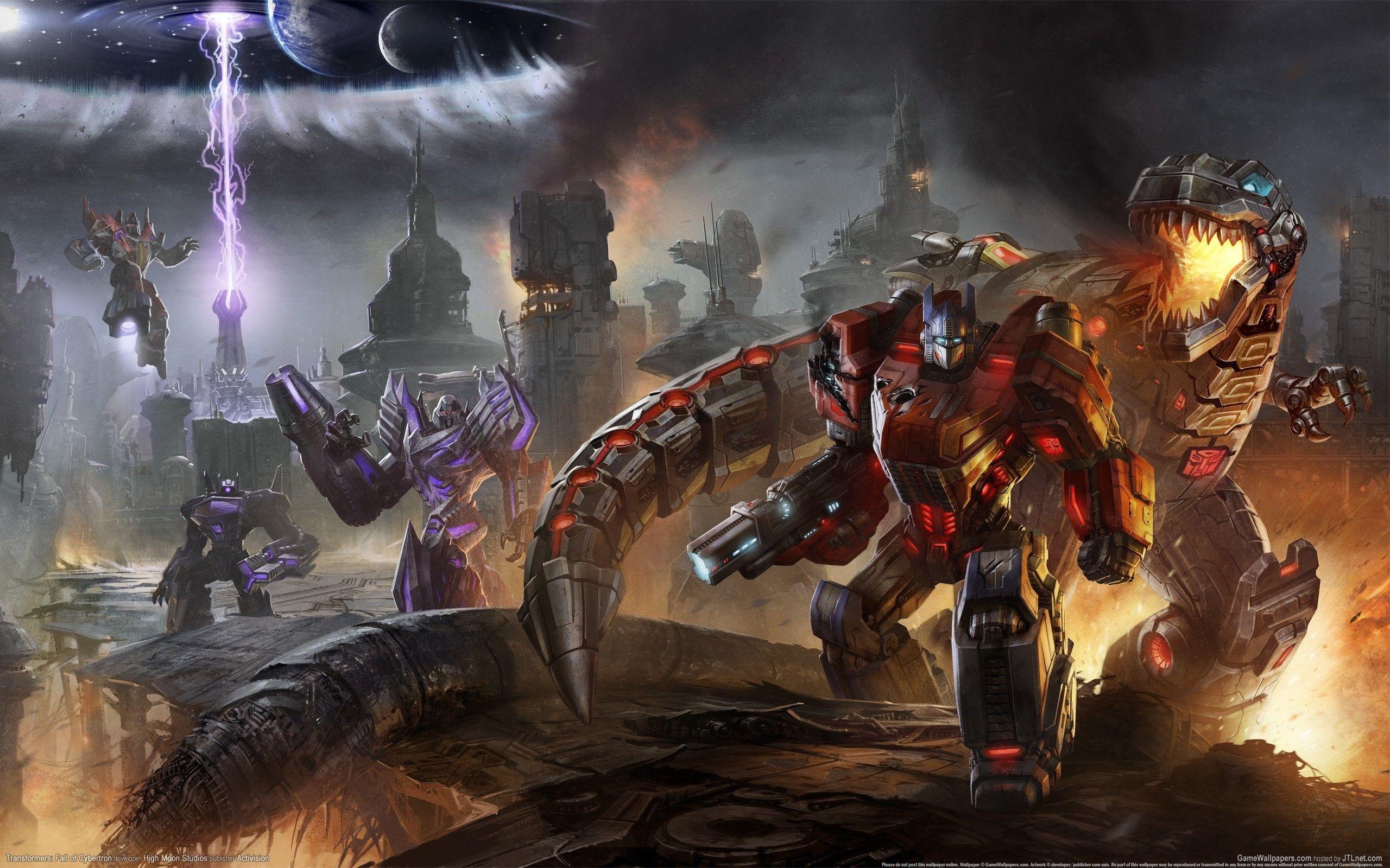 Transformers, Video Games, Optimus Prime, Grimlock, Light – HD .