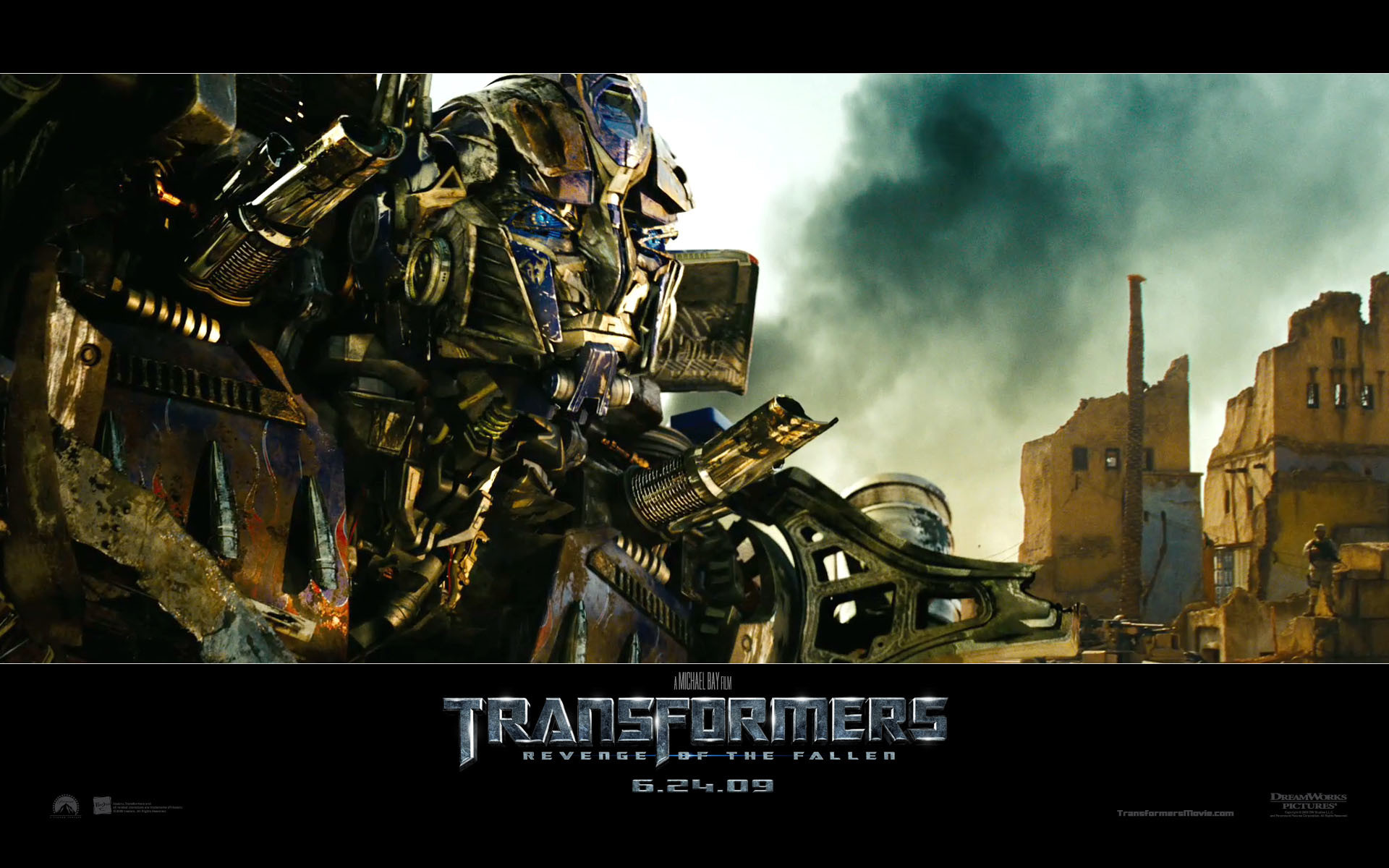 Optimus Prime (Autobot) from Transformers Revenge of the Fallen movie HD  Wallpaper