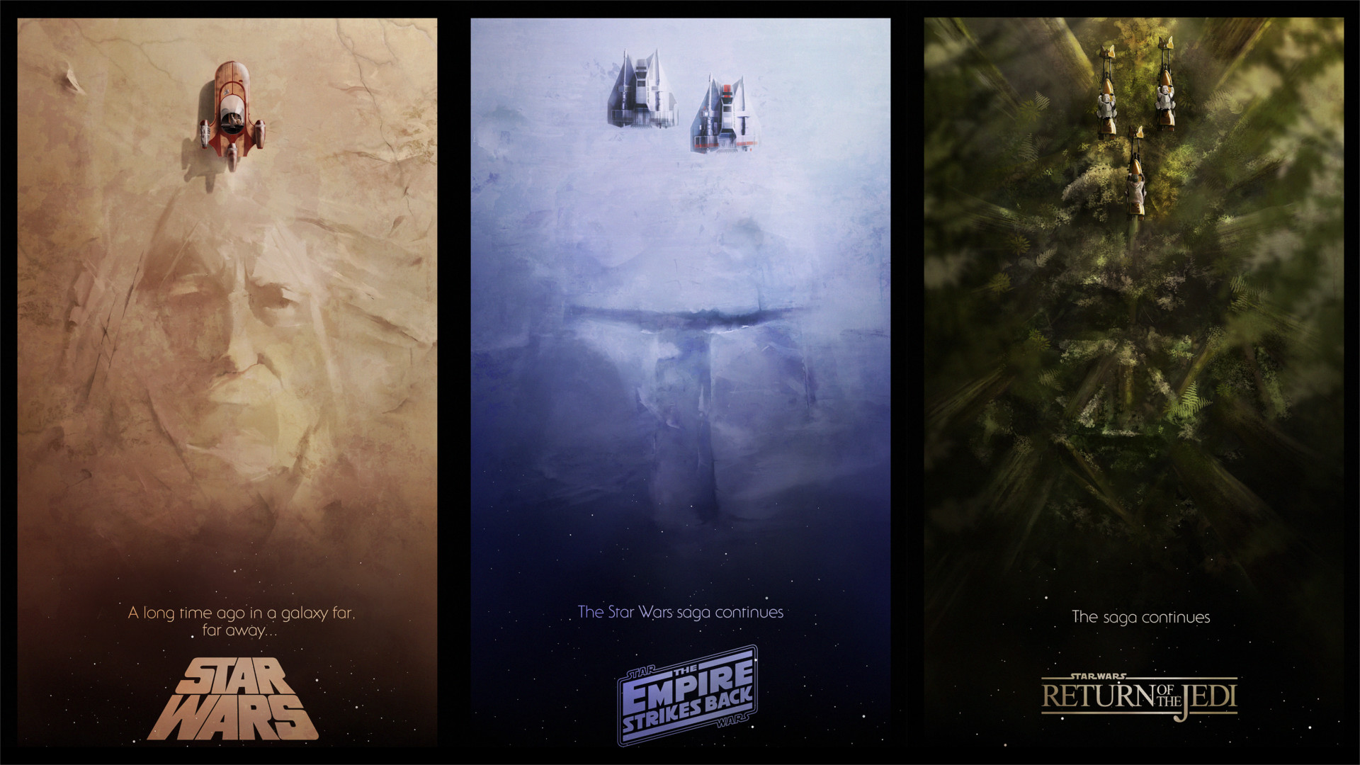 Photo: Full HD Star Wars Poster Wallpapers, by Darius Toews