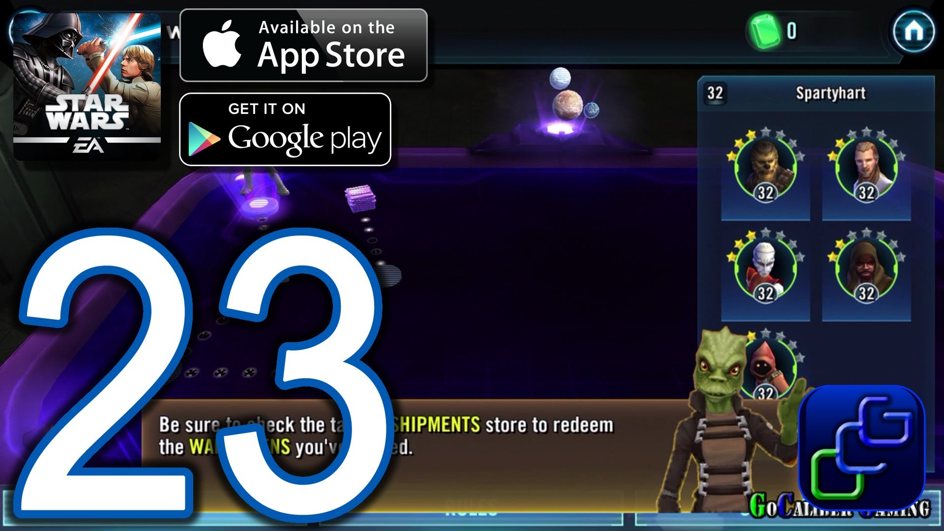 STAR WARS Galaxy of Heroes Android iOS Walkthrough – Part 23 – Galactic War  – YouTube