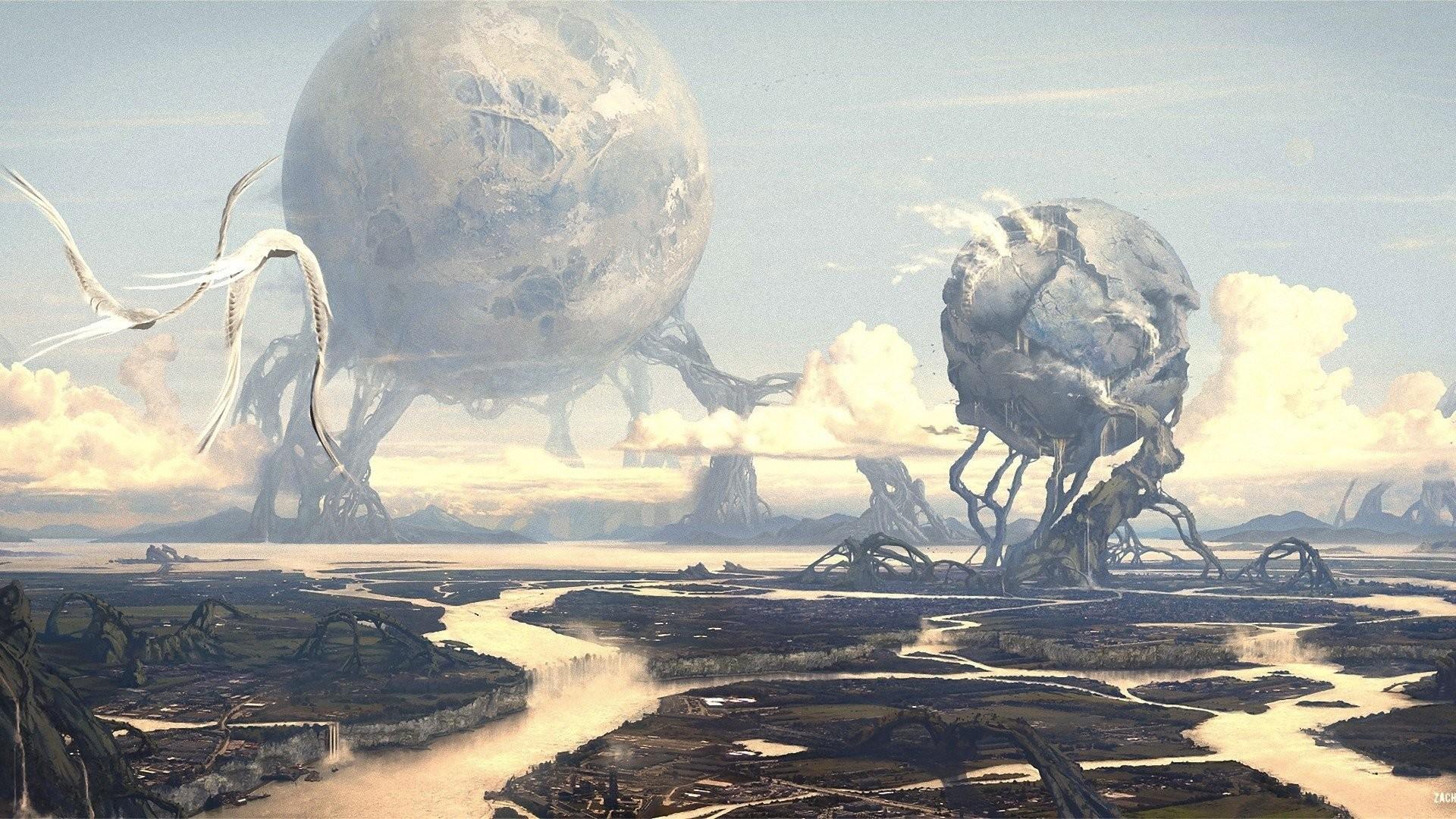 HD Wallpaper   Background ID:325448. Sci Fi Landscape