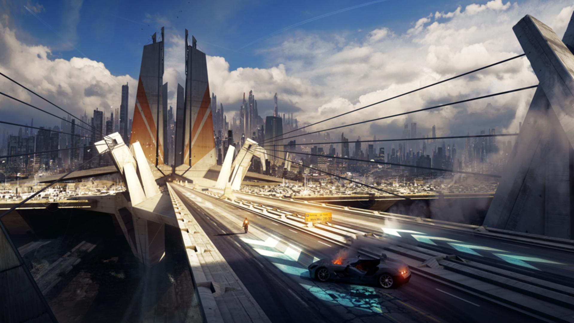 Sci Fi – Landscape Wallpaper