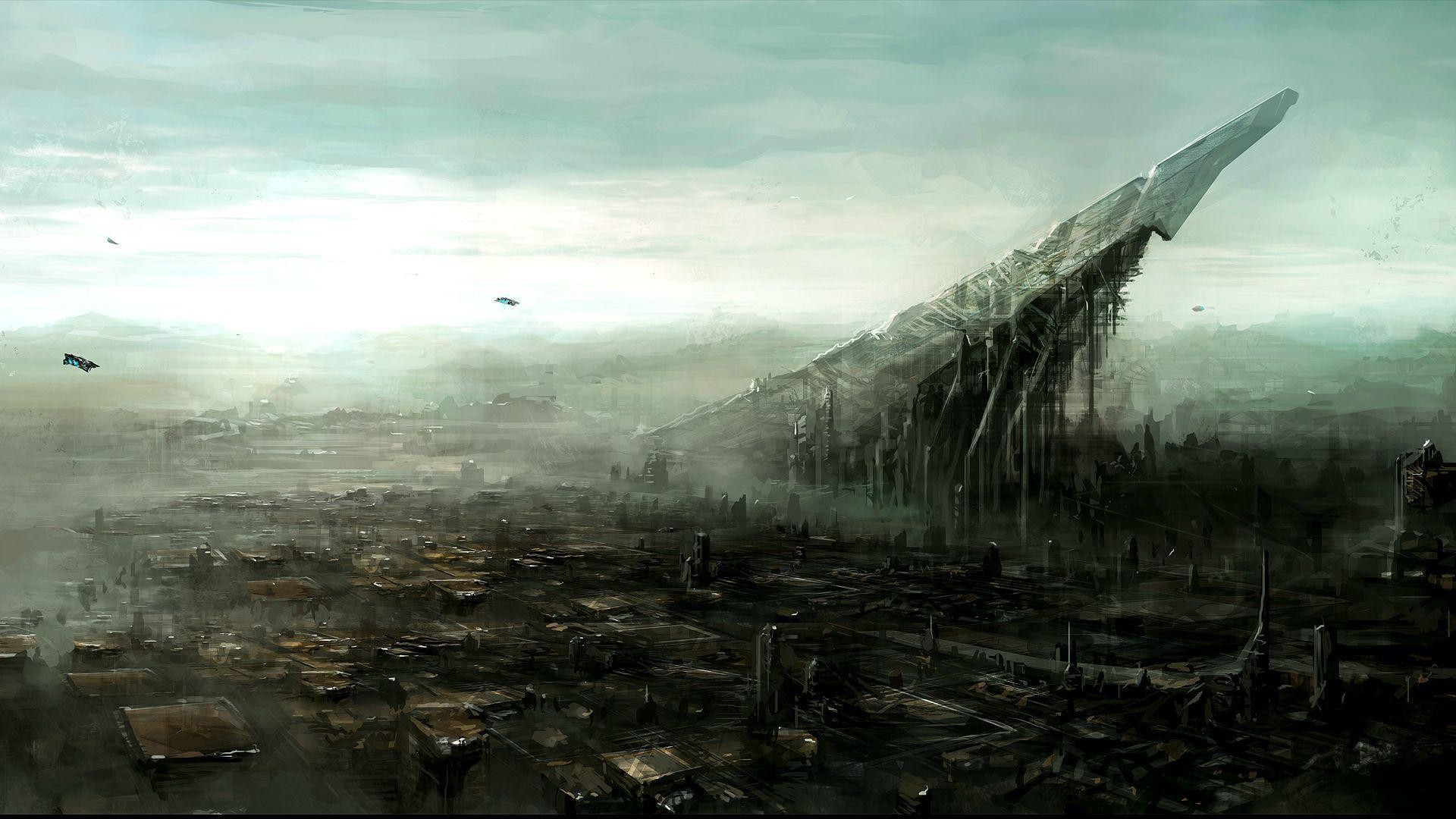 SCI FI Landscape Image – New HD Wallpapers