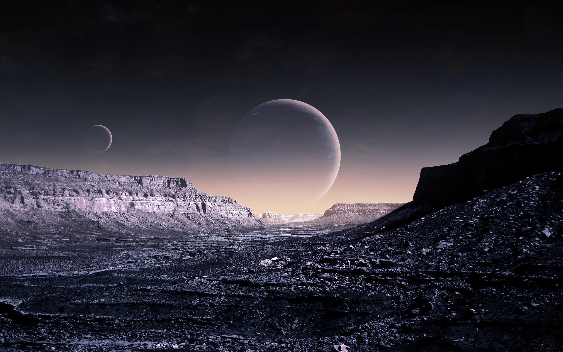 Sci Fi Landscape – Id: 150190 – Wallpaper Abyss