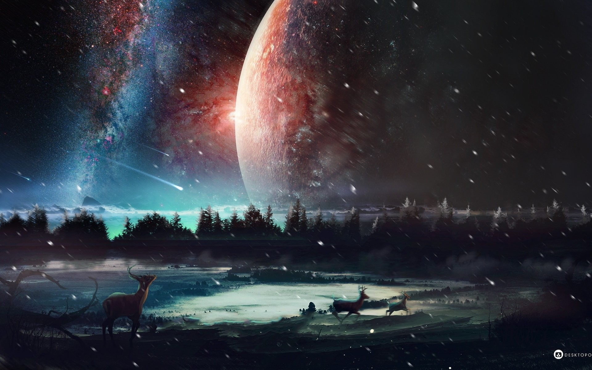 HD Wallpaper   Background ID:522893. Sci Fi Landscape