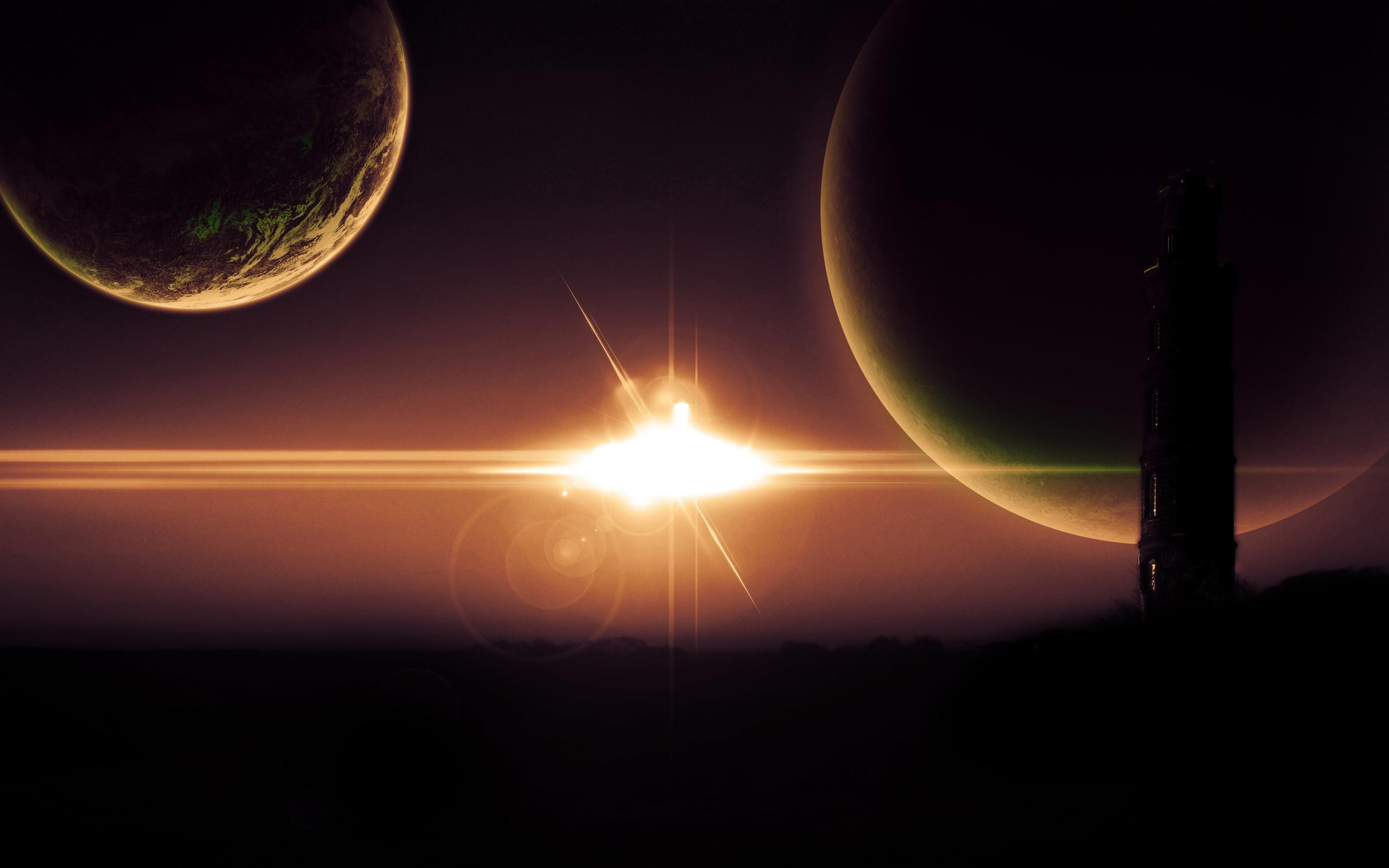 HD Wallpaper   Background ID:343880. Sci Fi Landscape