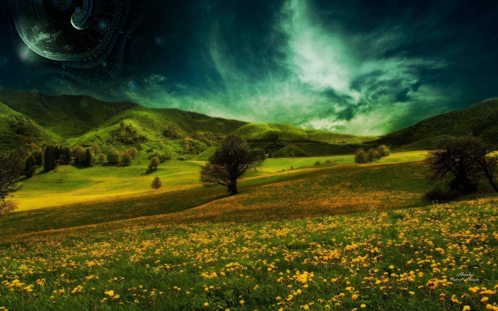 HD Wallpaper   Background ID:116790. Sci Fi Landscape