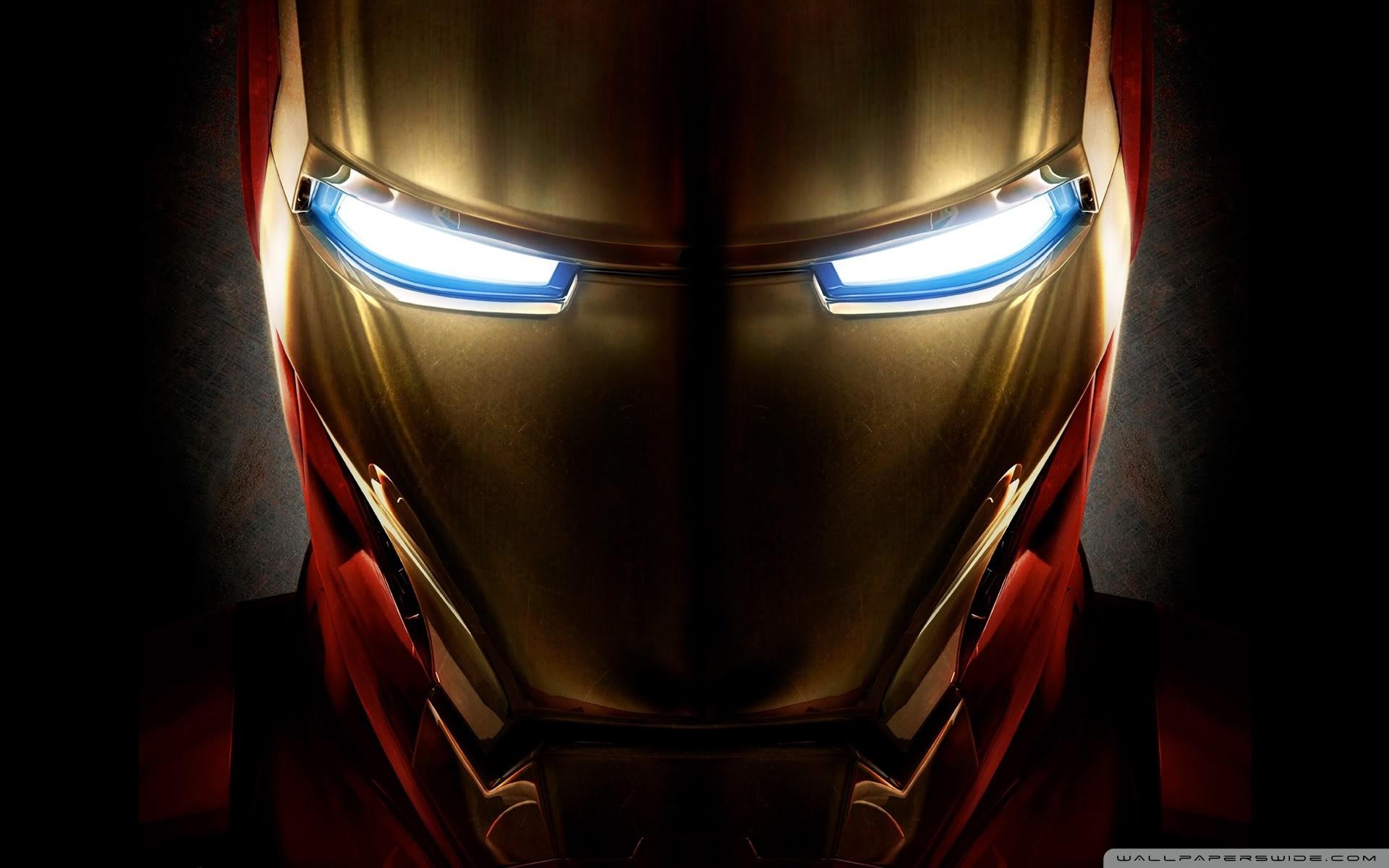 Iron Man Helmet HD Wide Wallpaper for Widescreen